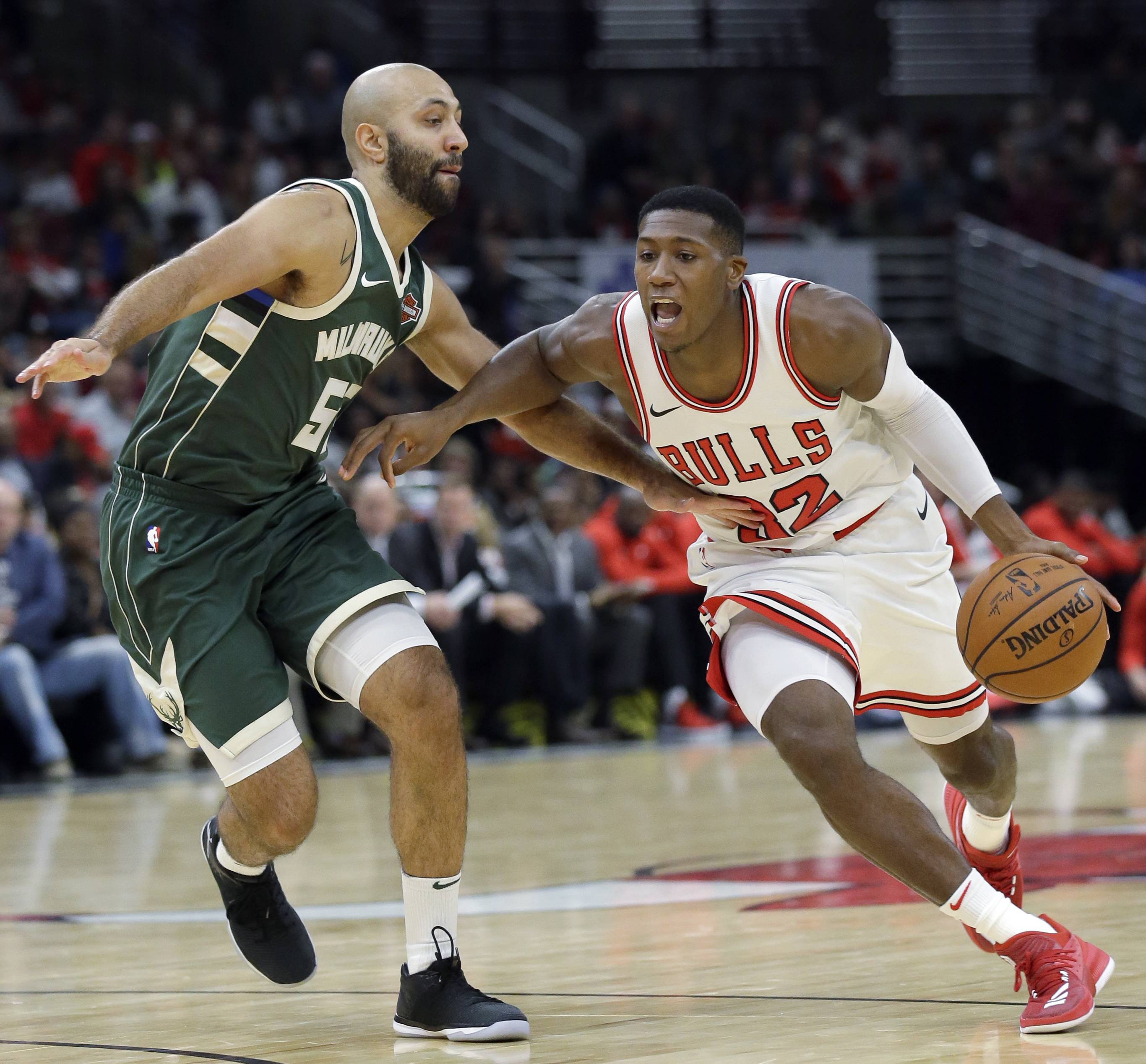 Chicago Bulls guard Kris Dunn will be out 2-4 weeks with a dislocated finger suffered against Milwaukee on Oct. 6.