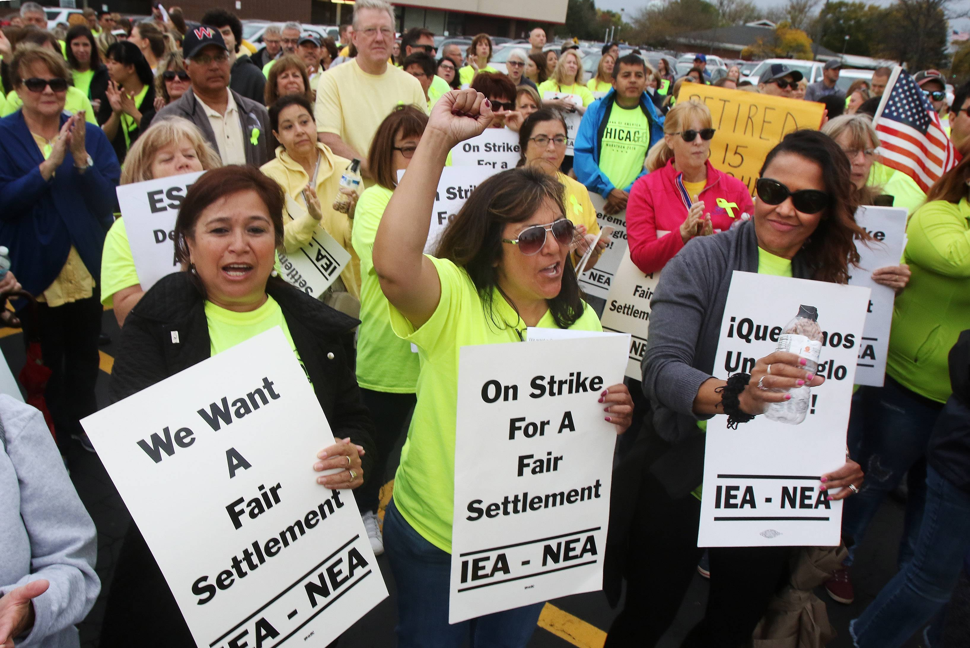 District 15, union back in court to decide if some employees can strike