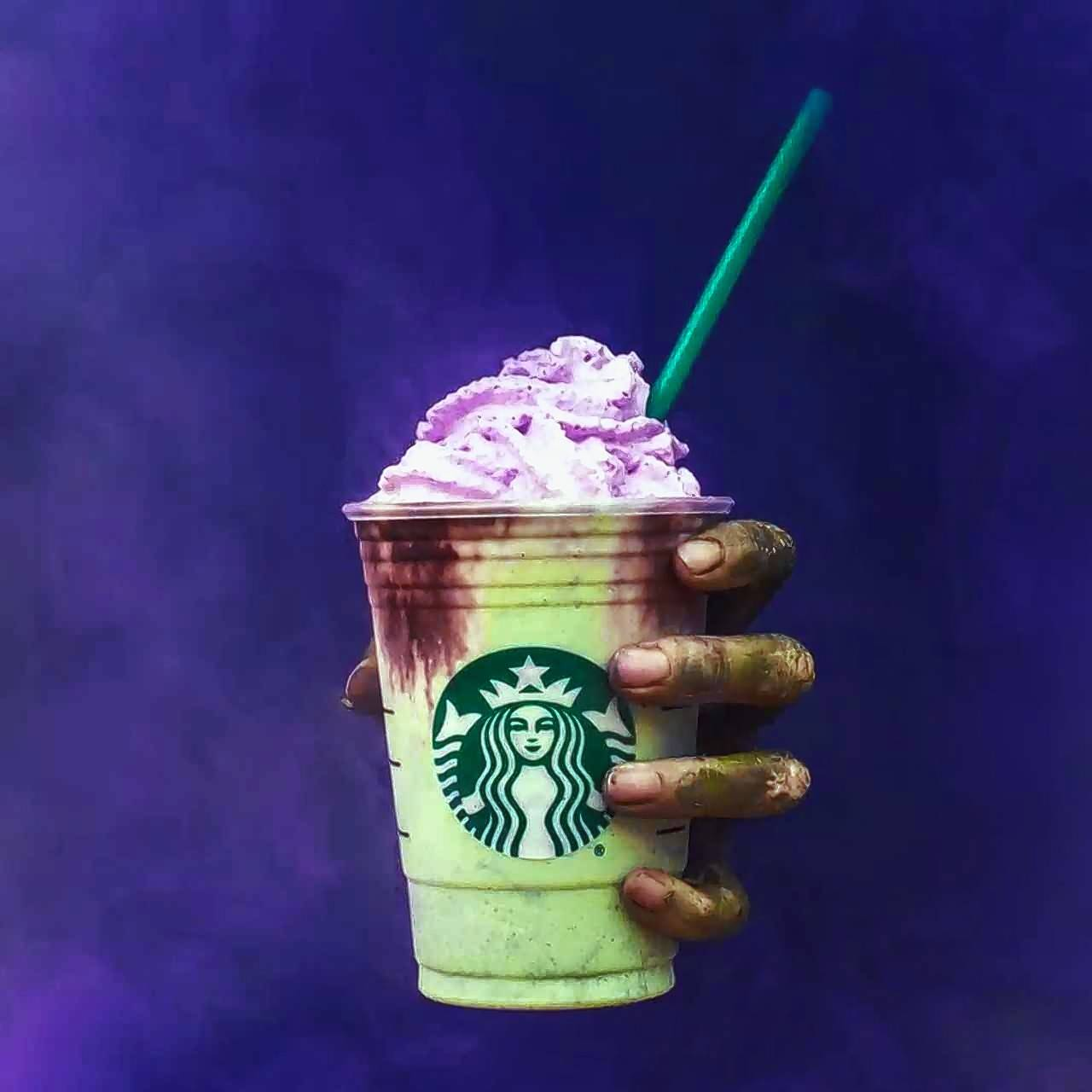Starbucks Zombie Frappuccino takes over social media feeds