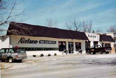 The original Nielsen Enterprises opened in a former gas station at Grand Avenue and Cedar Avenue in Lake Villa. The site most recently was home to the Blackthorn restaurant and is being converted for a Timothy O'Toole's restaurant.