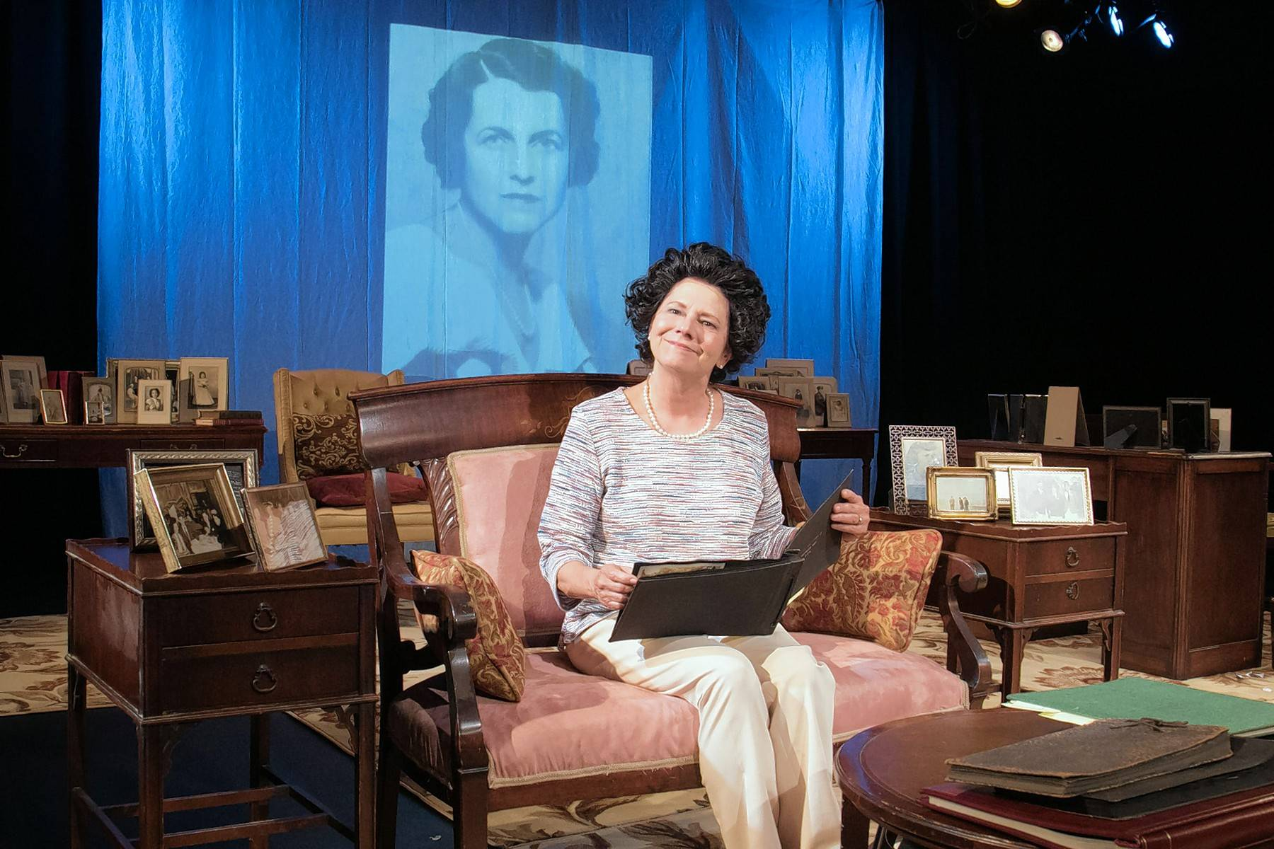 "Linda Reiter reprises her Joseph Jefferson Award-winning role as Rose Fitzgerald Kennedy in Greenhouse Theater Center's remount of ""Rose"" by Laurence Leamer."