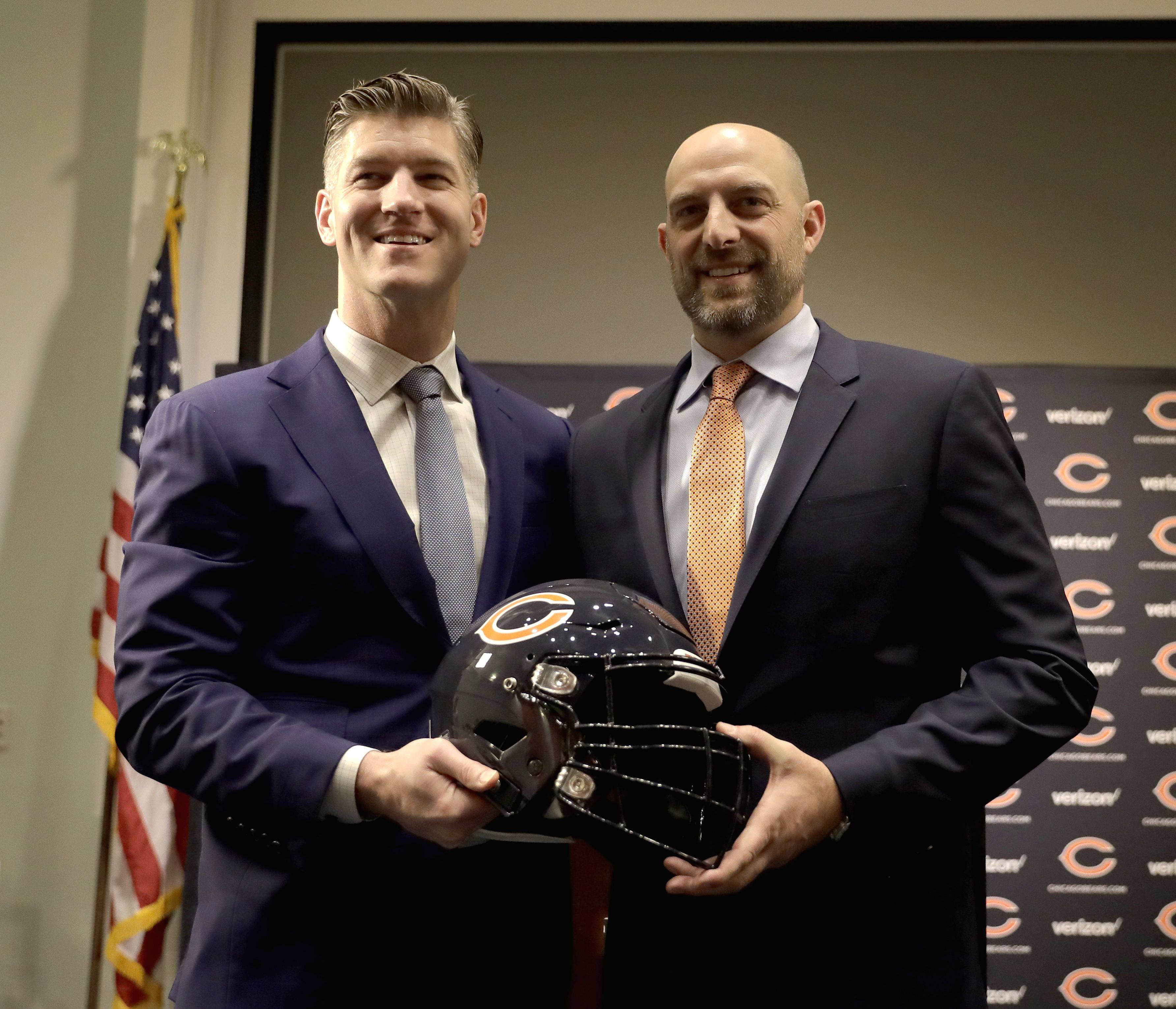 Bears GM quickly finds common ground with new head coach