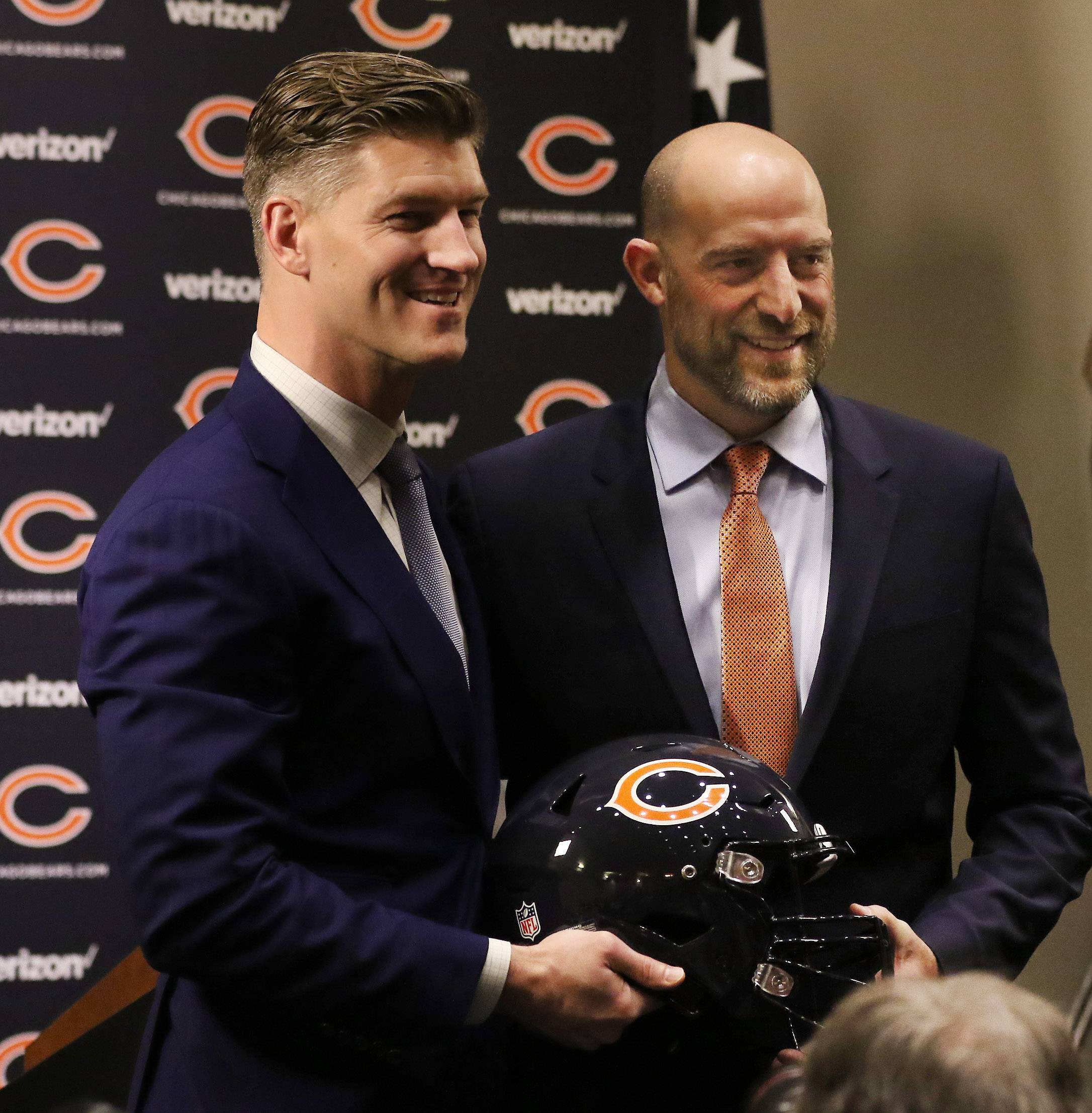 For Nagy, partnership with Pace key to Chicago Bears head coach job