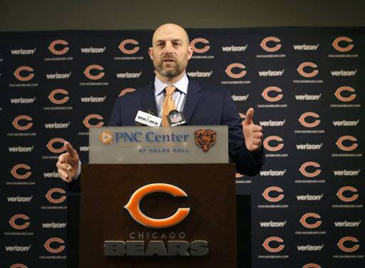 New Bears coach Nagy faces big task to lift struggling team