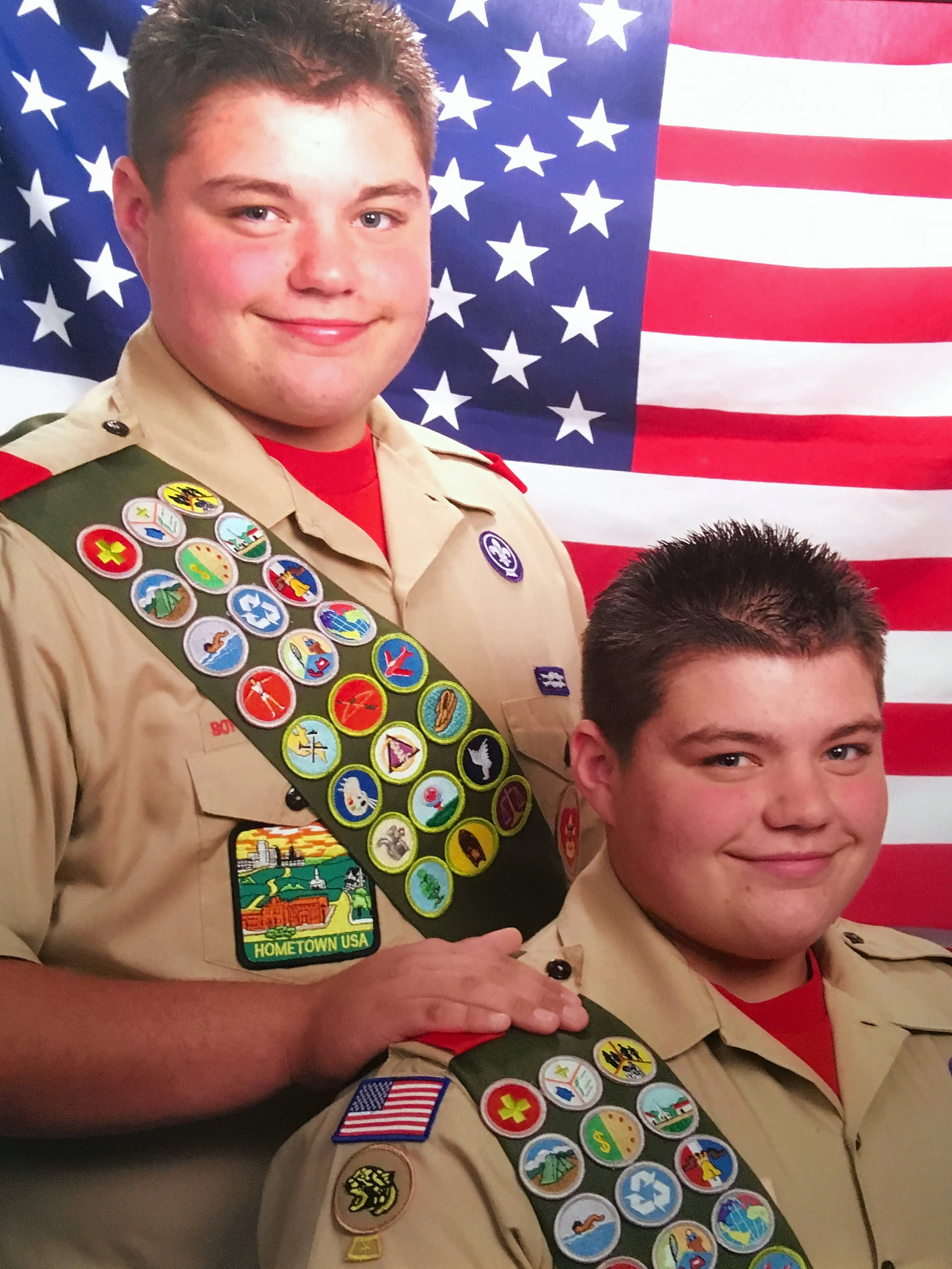"While most Boy Scouts are 18 when they earn the Eagle Scout honor, Spencer and Skyler Nick of Wauconda reached that goal by age 16. Now the identical twins are competing in the Food Network's ""Worst Cooks in America."""