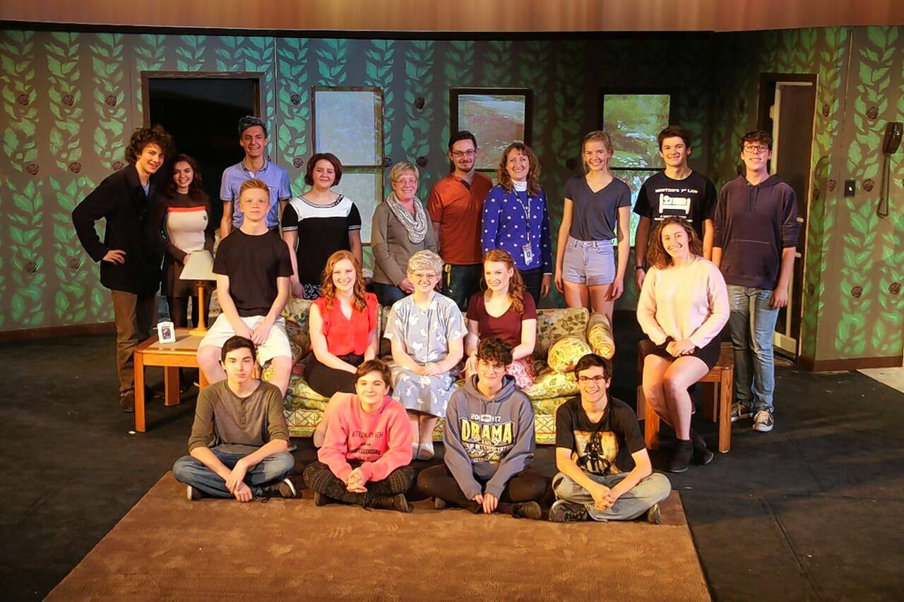 "The cast and crew of Lake Park's fall production, ""Close Ties,"" are demonstrating their skills this weekend at the Illinois High School Theatre Festival."
