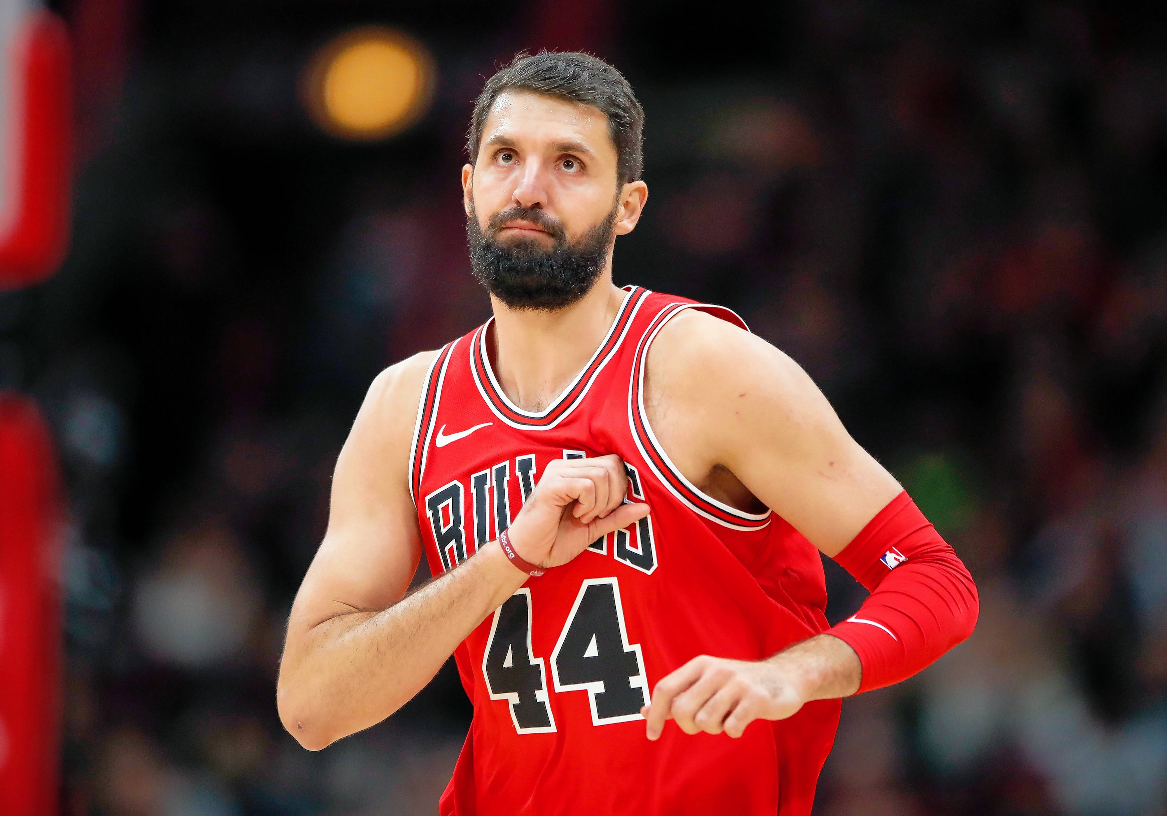After missing two games with a stomach virus, Nikola Mirotic was back at practice and should be ready to play Saturday against Detroit. With Zach LaVine making his Bulls debut, the team will be essentially at full strength for the first time.