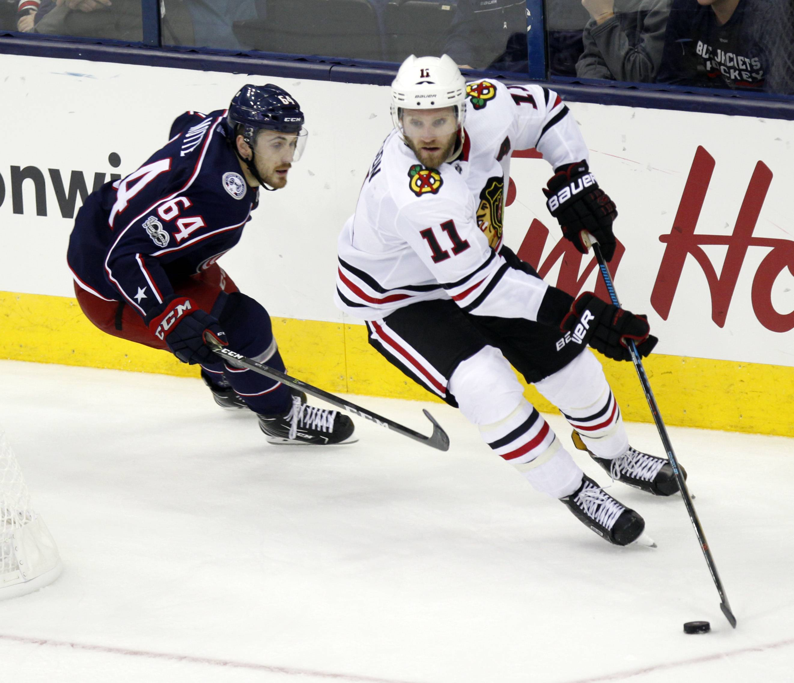 Chicago Blackhawks defenseman Cody Franson said he was shocked when the Blackhawks placed him and waivers, and then surprised that he wasn't claimed.