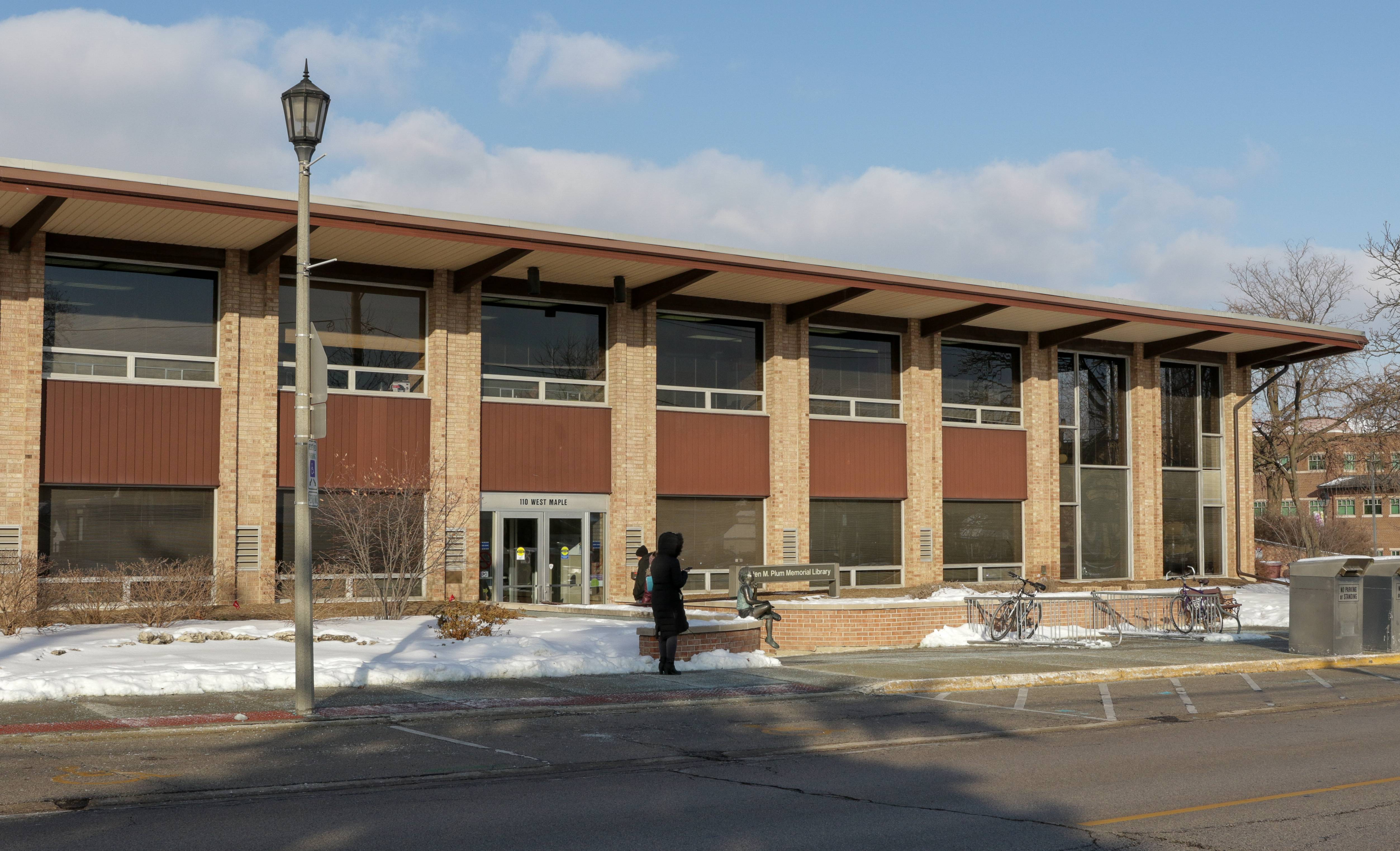 Helen M. Plum Memorial Library officials are moving ahead with a project to replace the existing library at 110 W. Maple St., despite being unable to reach a deal with the park district that could have modified the plan.