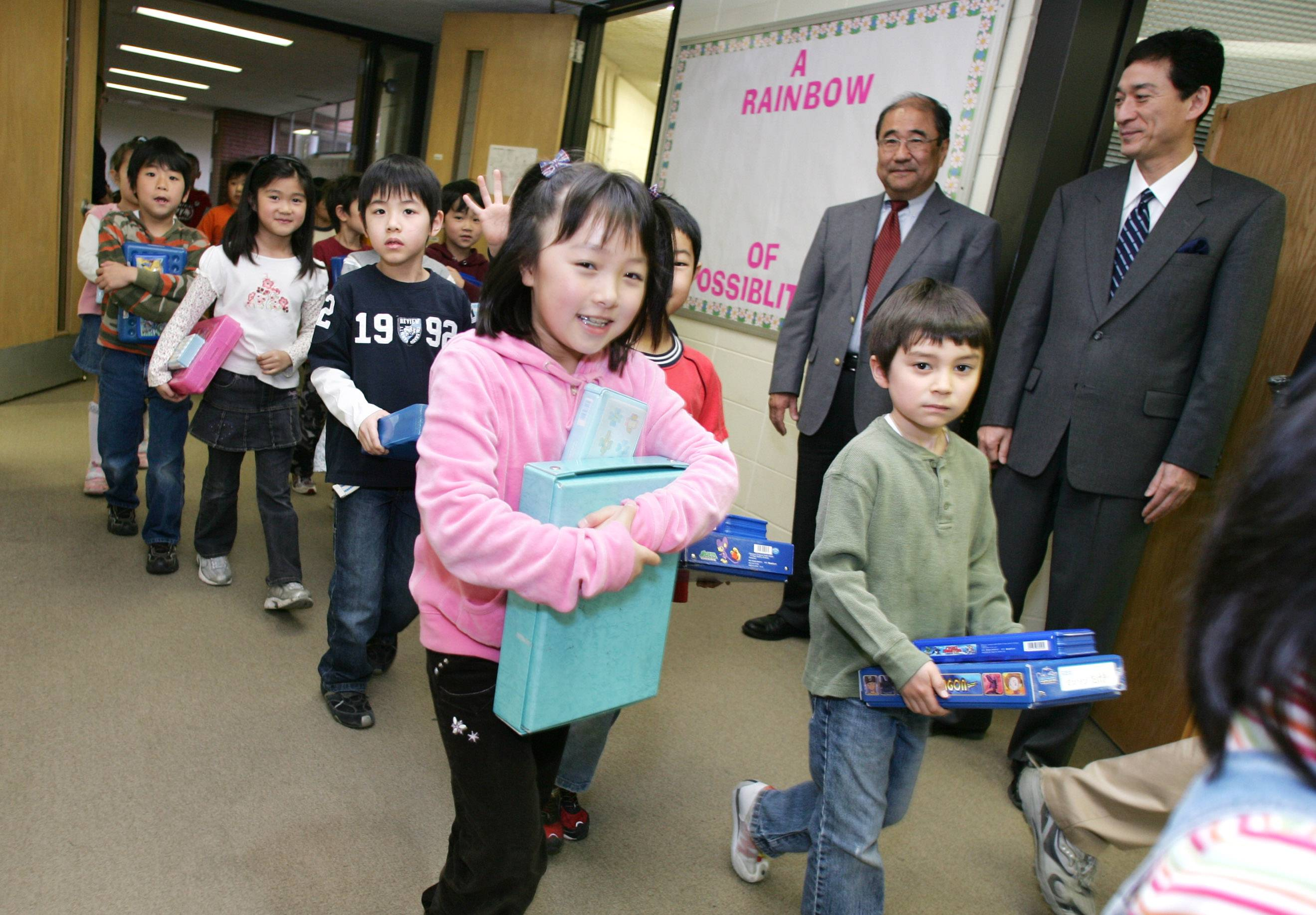 Chicago Futabakai Japanese School, which serves elementary and junior high school students, plans to extend its lease to operate out of the former Rand Junior High School in Arlington Heights.