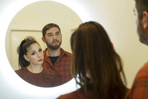 "Shoshannah Stern and Josh Feldman star in ""This Close,"" a series premiering Wednesday, Feb. 14, on Sundance Now."