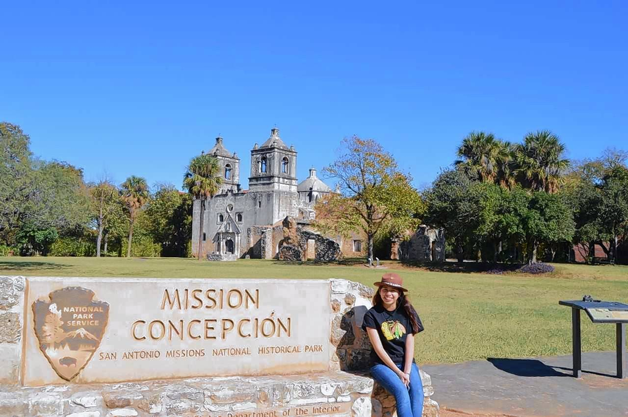 "Algonquin teen and ""super junior ranger"" Aida Frey has covered 304 national park sites in seven years including the San Antonio Missions."