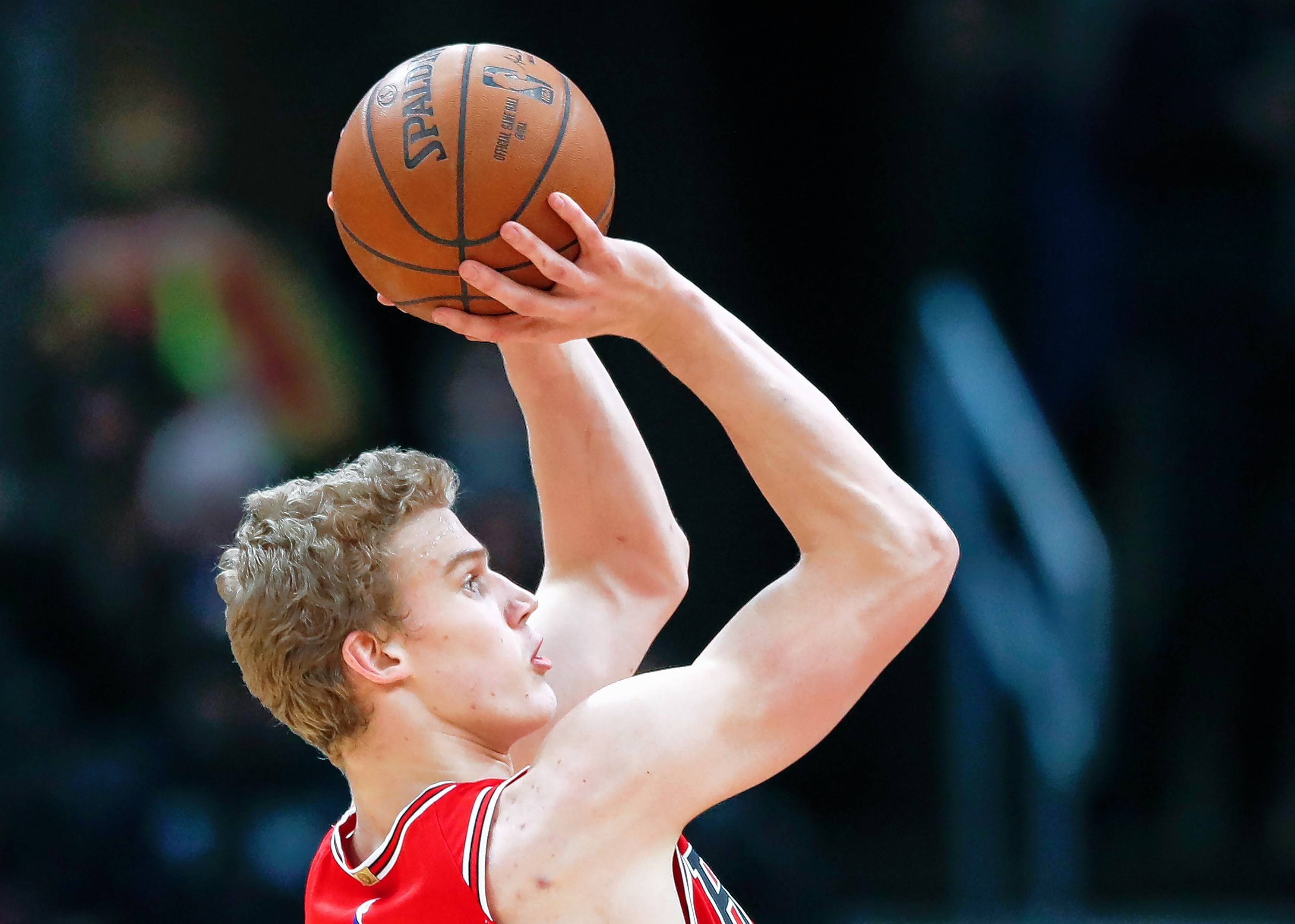 Chicago Bulls forward Lauri Markkanen has struggled from the 3-point range in recent games.