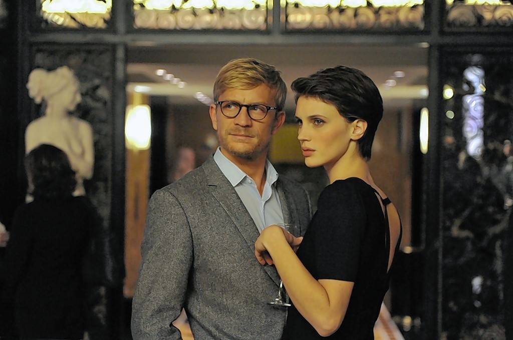 "A young French museum employee (Marine Vacth) falls in love with her shrink (Jérémie Renier) in Francois Ozon's ""Double Lover."""