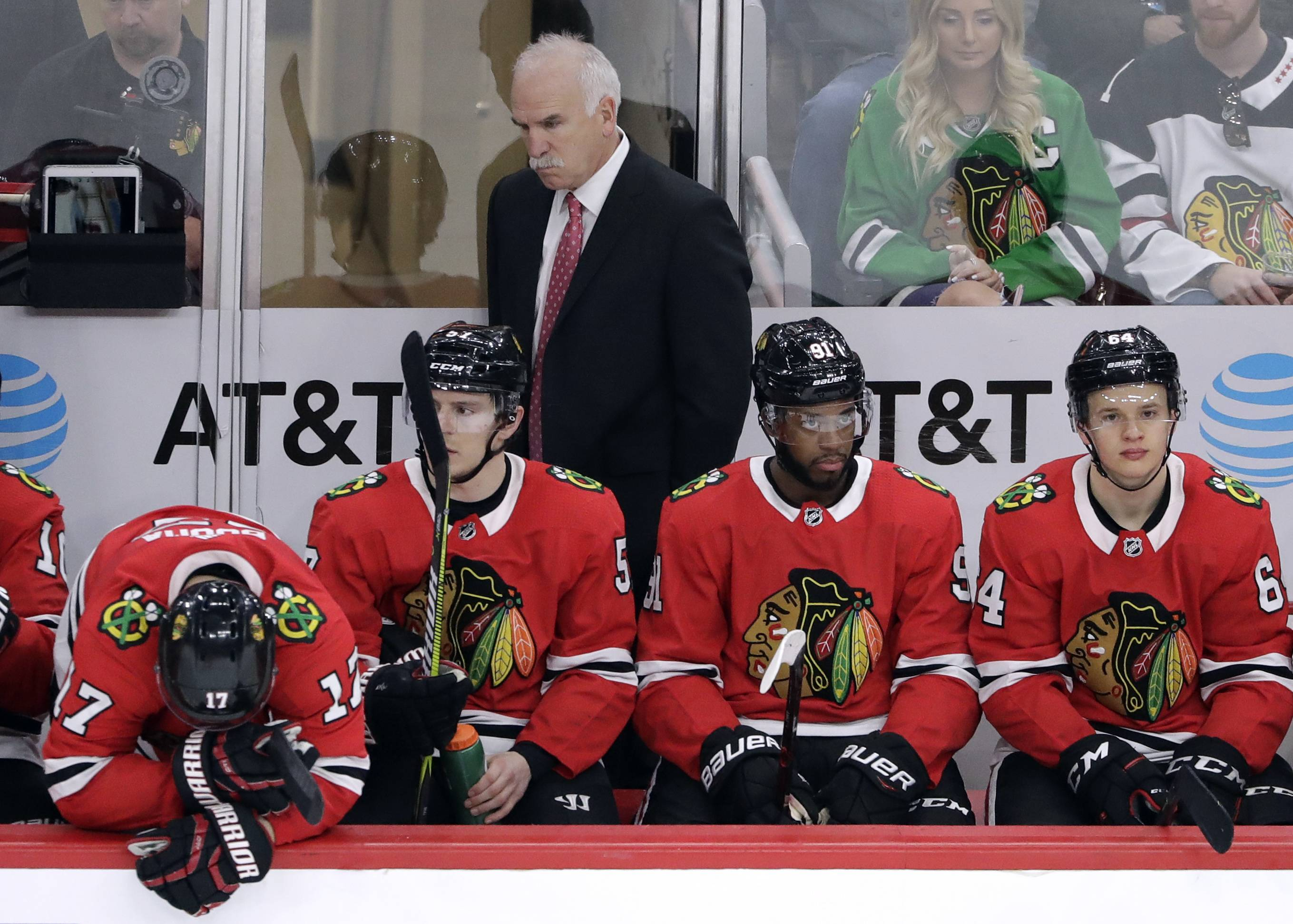 With the Chicago Blackhawks struggling mightily this season, is it time for Joel Quenneville to go? John Dietz says no, adding that the head coach deserves one more shot to right the ship next season.