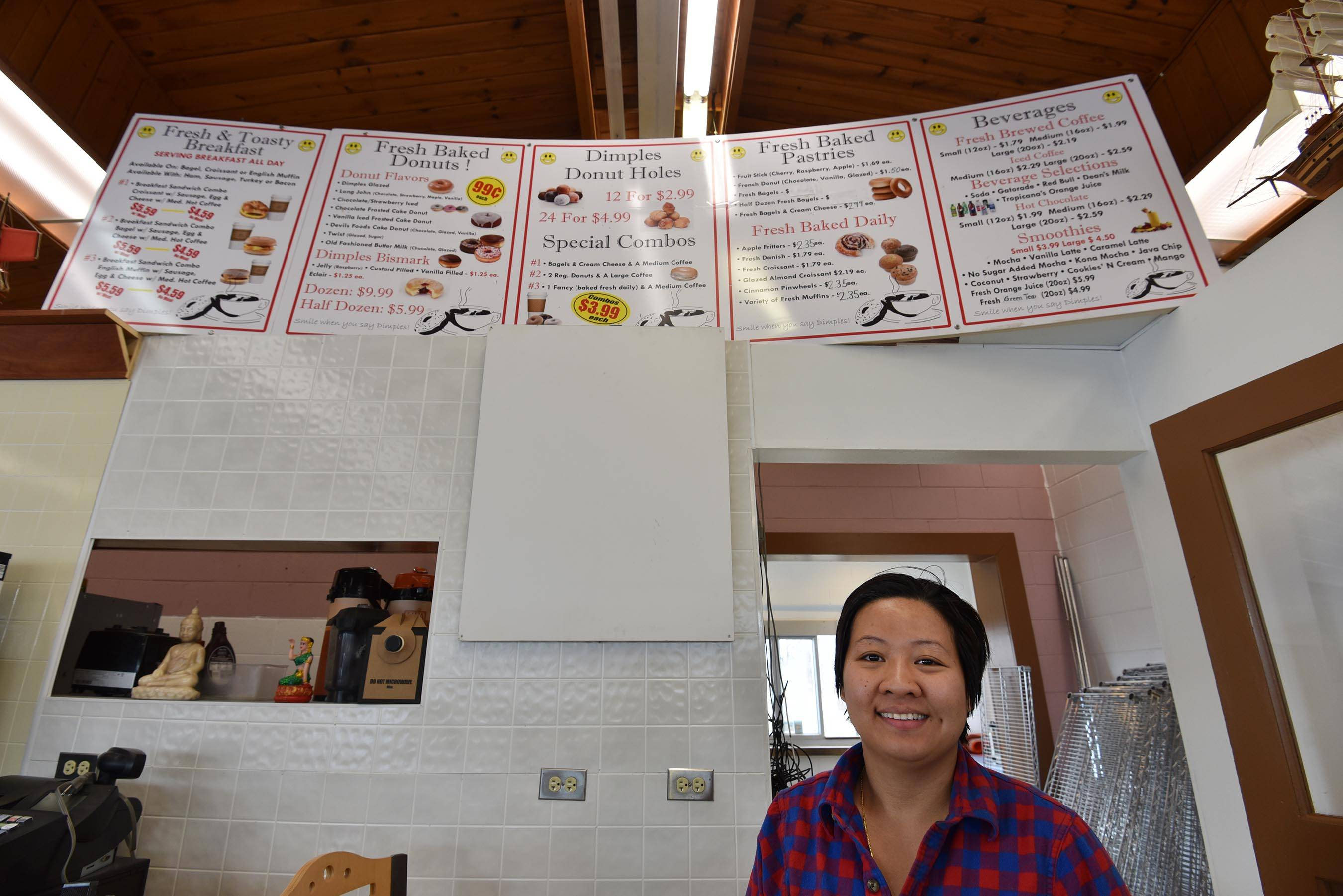 Sovannary Vong hopes to open Dimples Donuts at 1315 Dundee Ave. in Elgin at the end of the month. She also owns locations in Batavia and St. Charles.