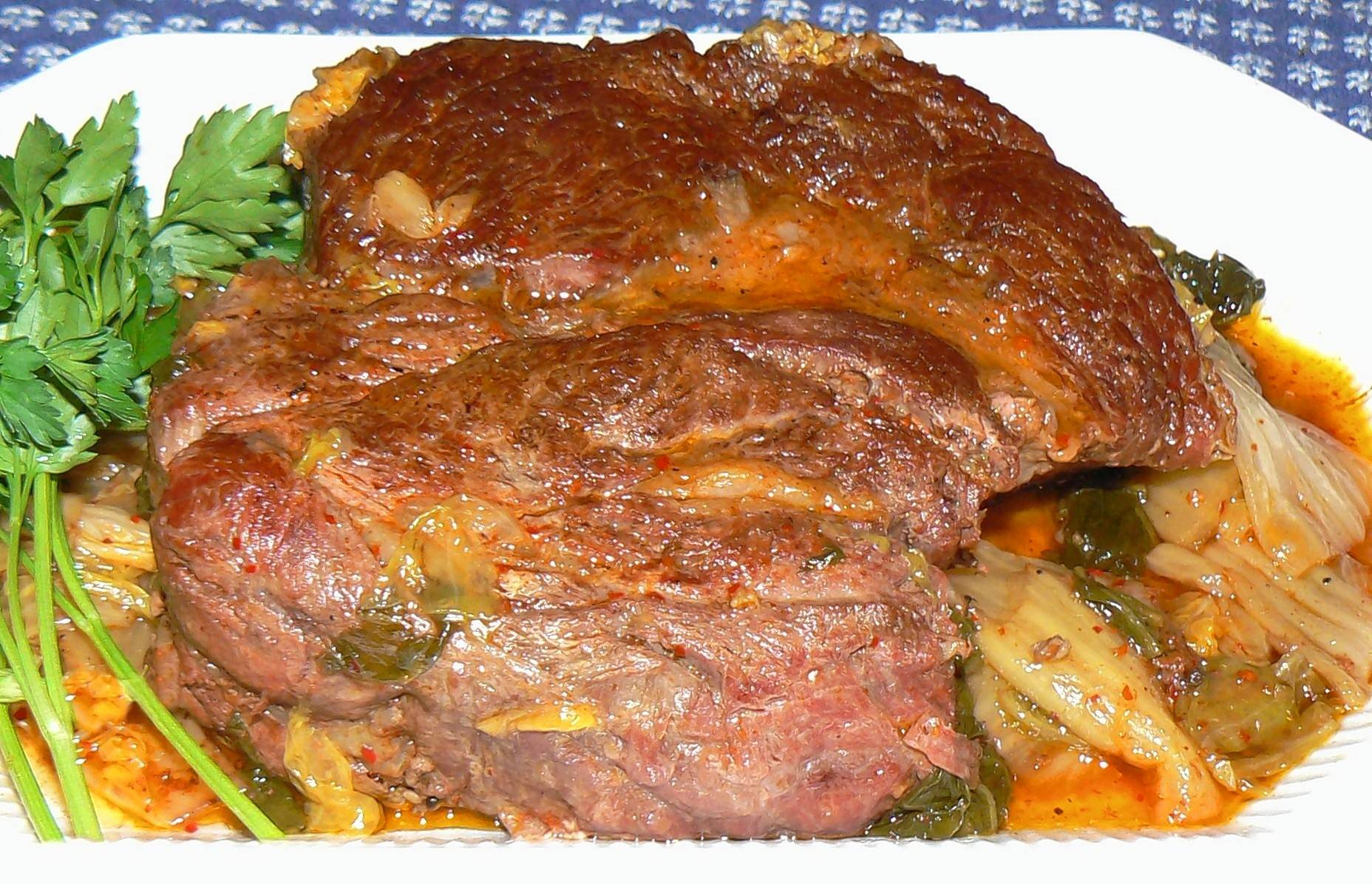 An unusual flavor profile provides a tasty boost to a classic pot roast.