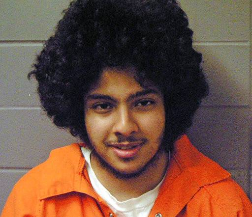 FILE - This undated file photo provided by the U.S. Marshals office shows Chicago terrorism suspect Adel Daoud. Daoud, charged with attempting to bomb a bar has been declared fit to go to trial on Monday, March 12, 2018, nearly six years after his arrest. Daoud was arrested as part of an FBI sting after he allegedly placed what he believed to be an explosive device by a downtown Chicago bar. (U.S. Marshals office via AP, File)