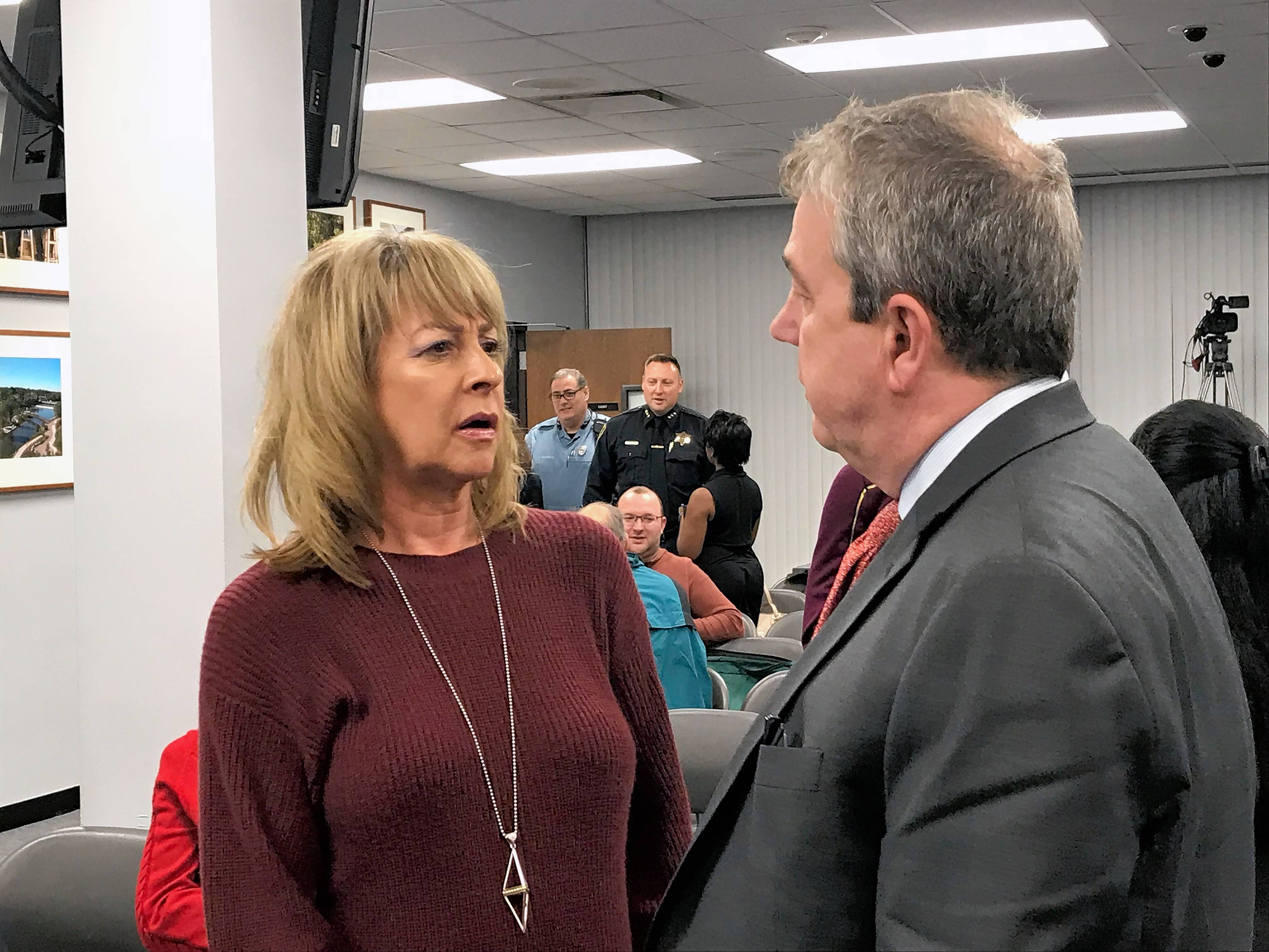 Kim Bless, CEO and president of the Elgin Area Convention and Visitors Bureau, makes $127,000 per year plus a vehicle stipend. The city, as a condition of its fiscal contribution, is considering setting a limit on the bureau's salaries.