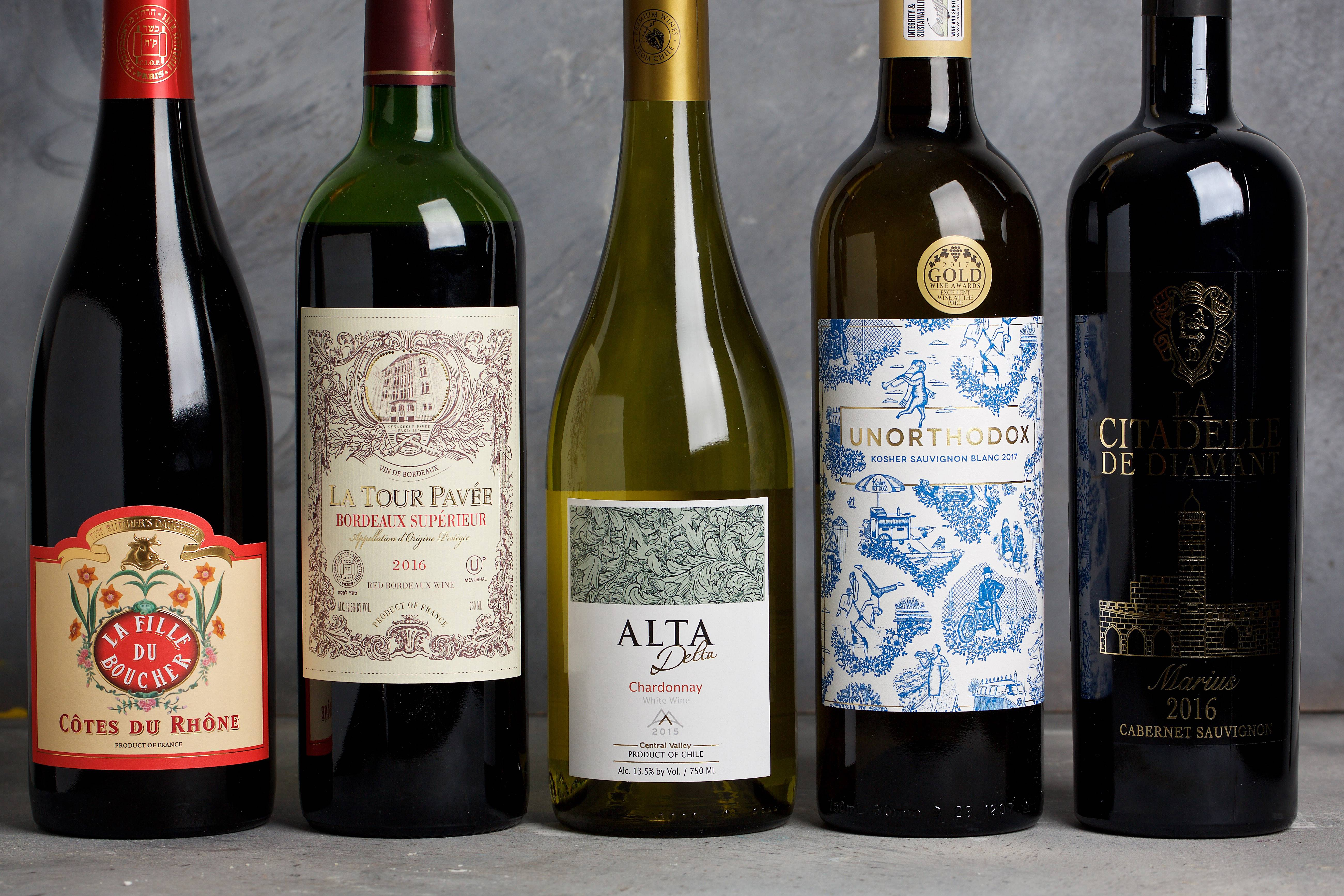 These five great kosher wines are perfect for your Passover table, or anytime.