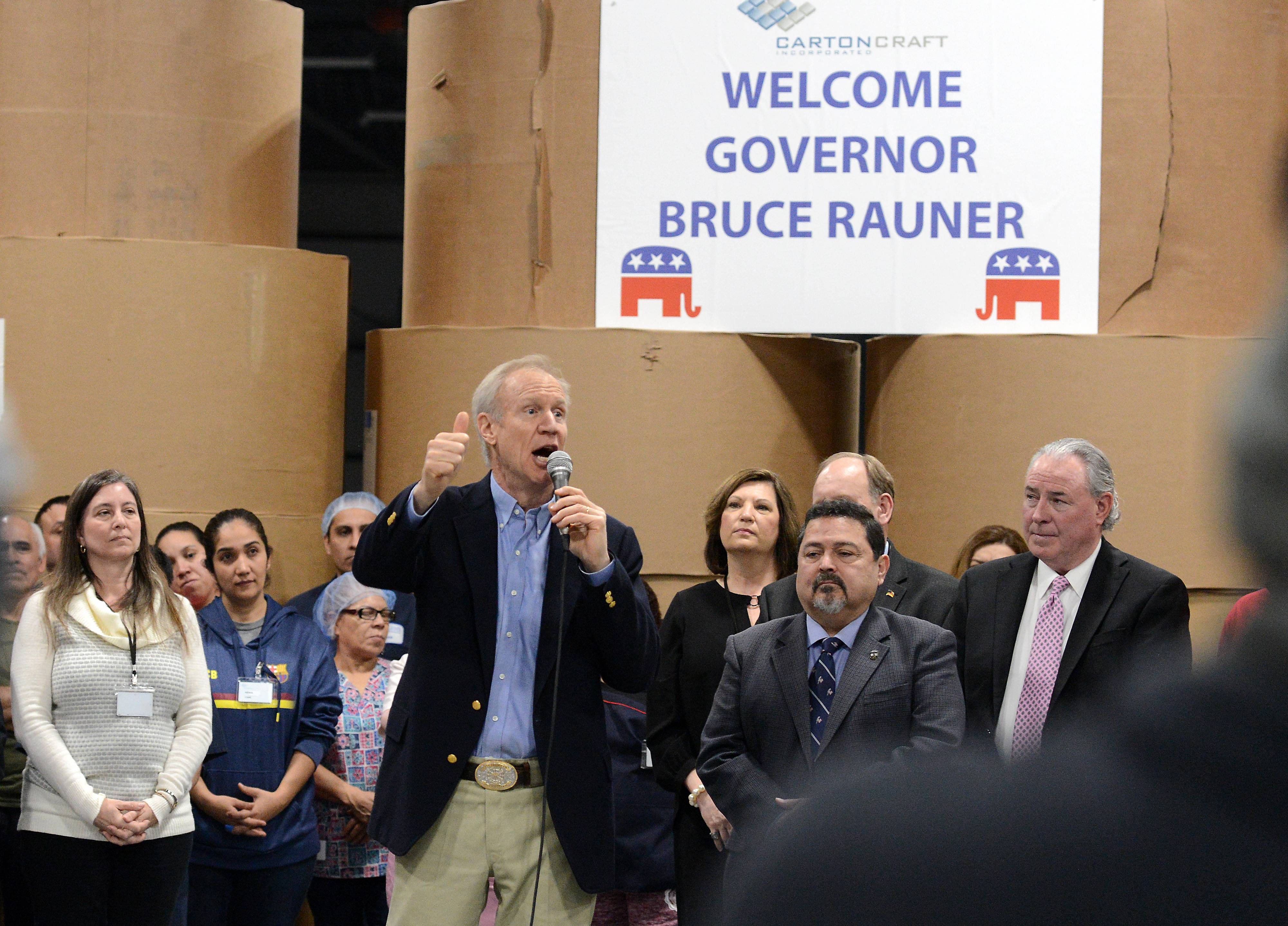 Can Rauner, Pritzker unite their parties? (Ives won't endorse governor)