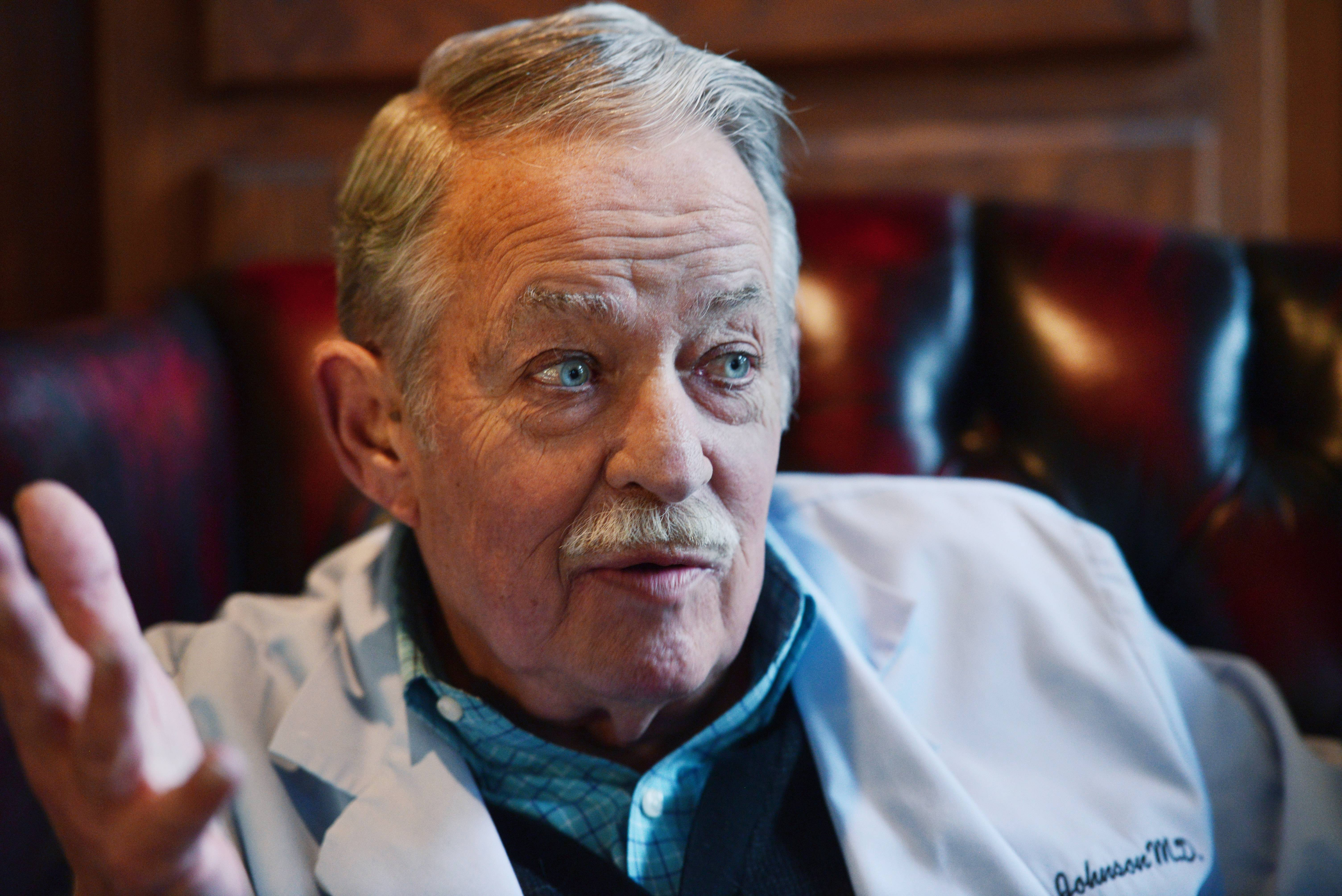 During his career of more than a half-century, Dr. Jeffrey B. Johnson of Hoffman Estates figures he's delivered more babies than anybody in the Northwest suburbs. He also hosted annual pool parties at his home for his nurses and staff.