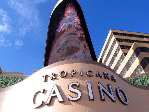 This March 9, 2016, photo shows the exterior of the Tropicana Casino and Resort in Atlantic City, N.J. On Monday April 16, 2018, Carl Icahn sold the real estate assets of Tropicana Entertainment to Gaming and Leisure Properties, and its casino operations to Eldorado Resorts in a $1.85 billion deal. Tropicana's casino in Aruba is not part of the deal.