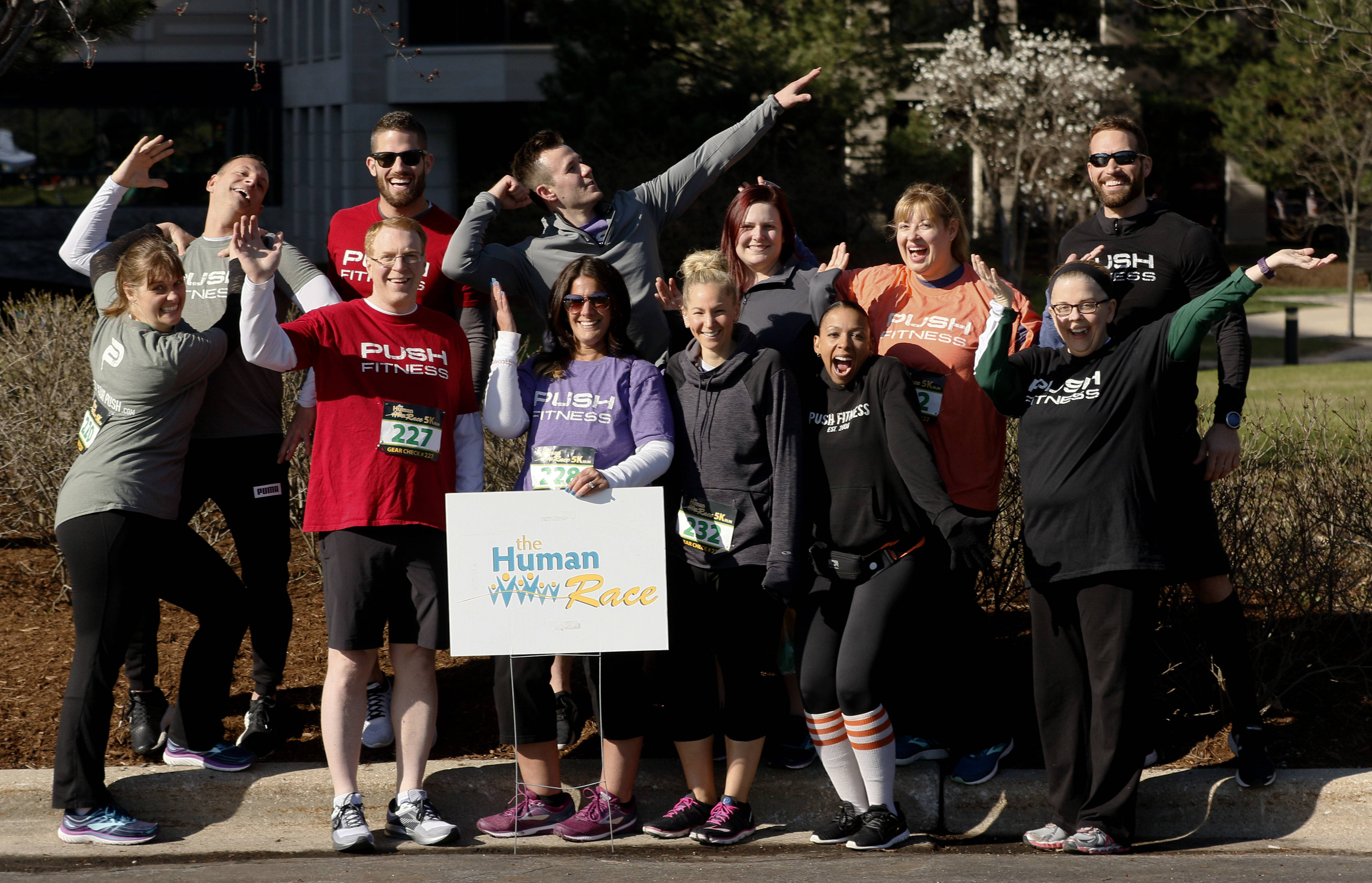 Fittest Loser contestants put their training to the test at DuPage Human Race 5K