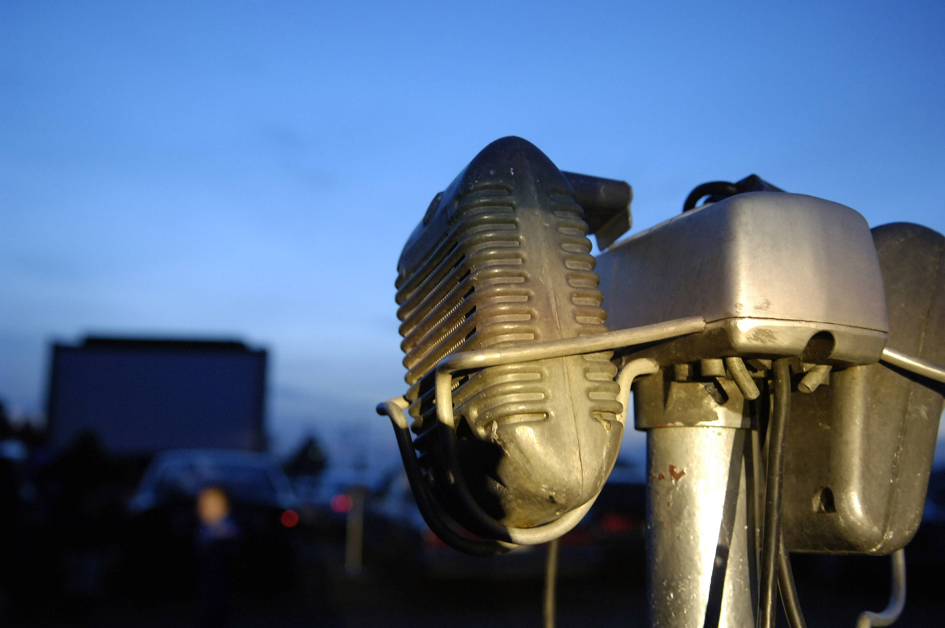 Speakers are available for cars to listen to the movie, or patrons can tune in their car radio to hear the movie at the McHenry Drive-In.