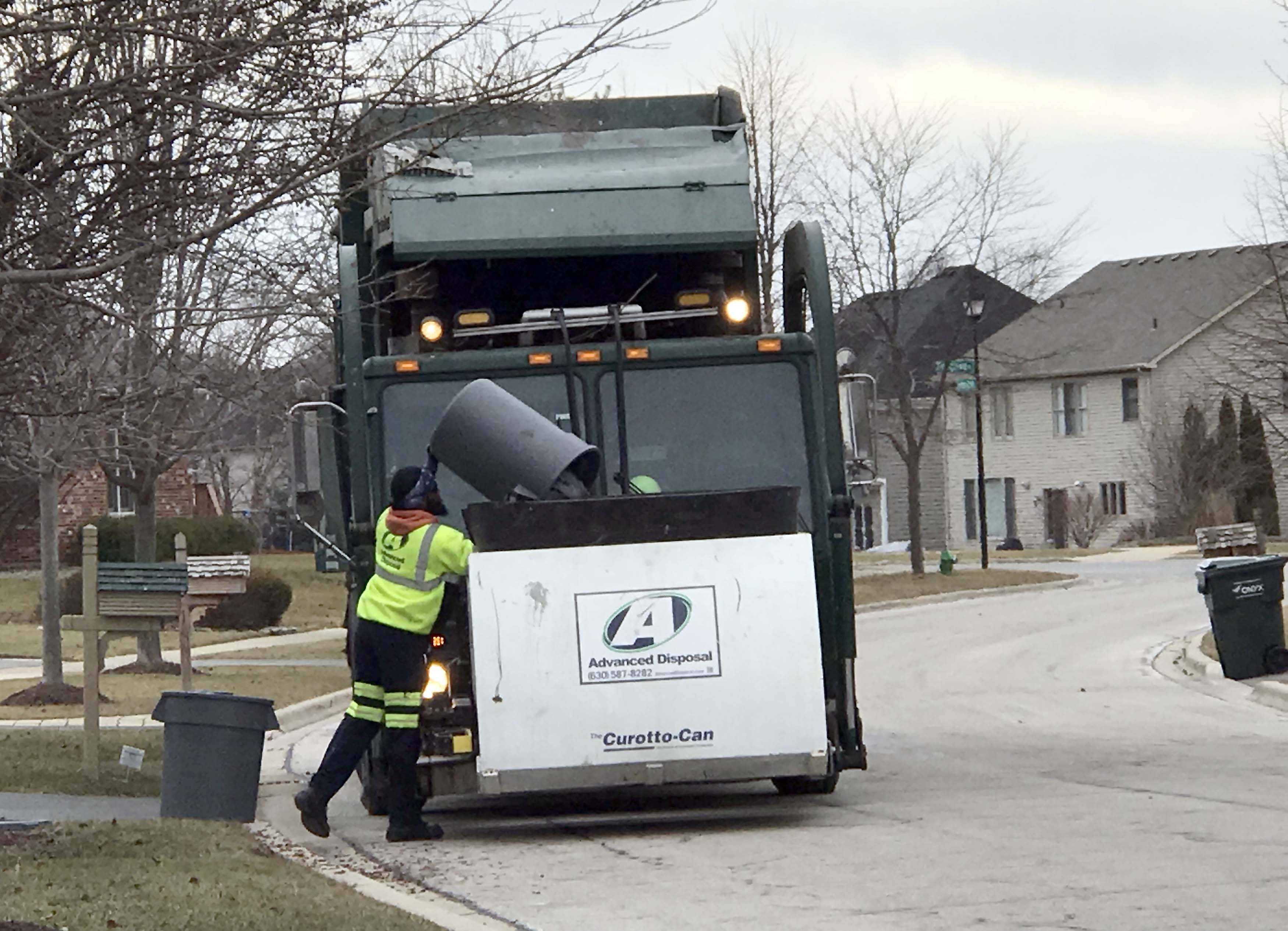 Advanced Disposal likely will lose its contract to pick up garbage in Geneva.