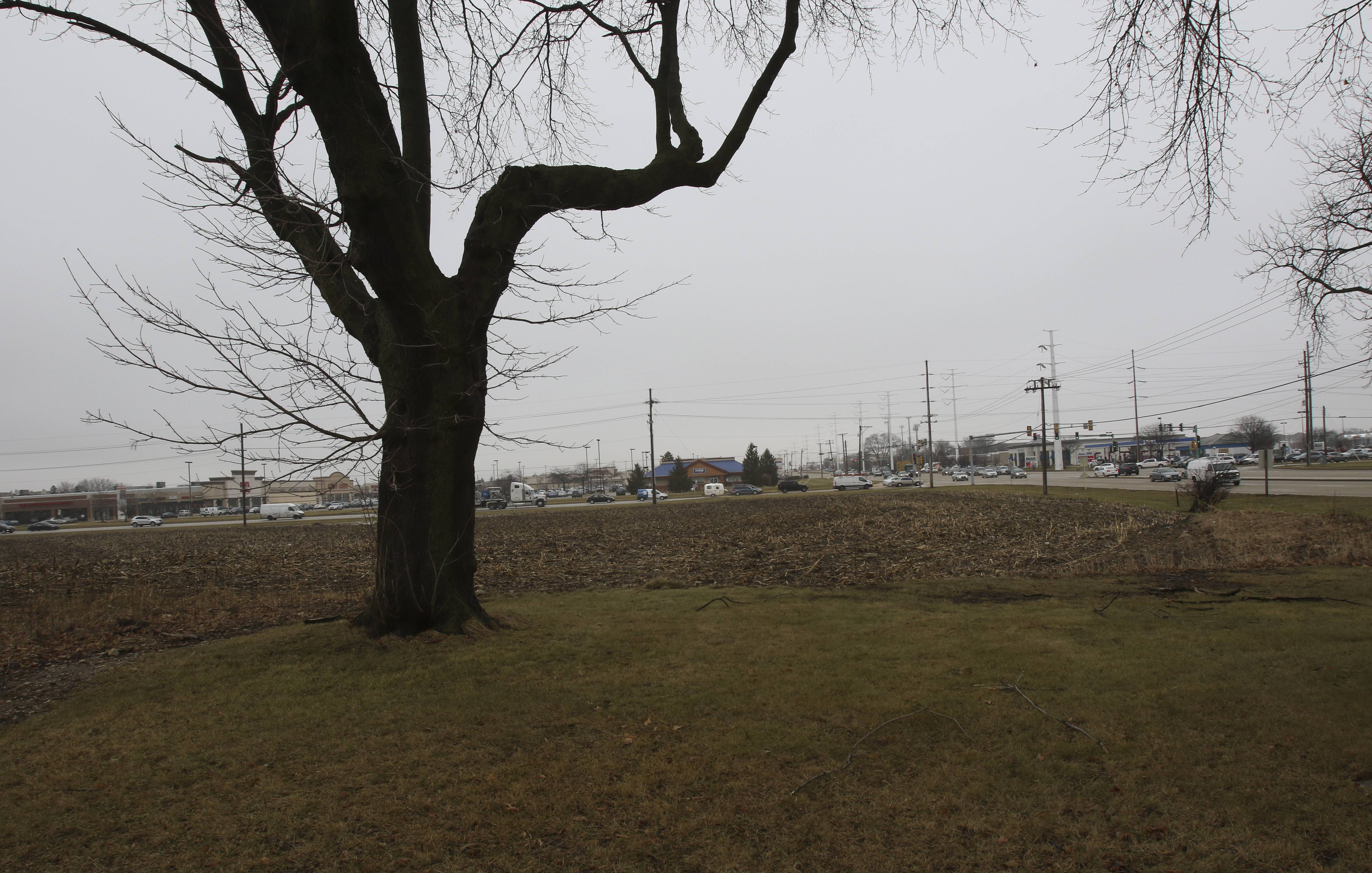 M/I Homes is likely to receive final permission from Aurora to build 171 townhouses on the southwest 25 acres of a dormant site at 75th Street and Route 59. The land formerly belonged to Indian Prairie Unit District 204, which had hoped to build its third high school there until the cost of acquiring additional land was determined to be too steep.