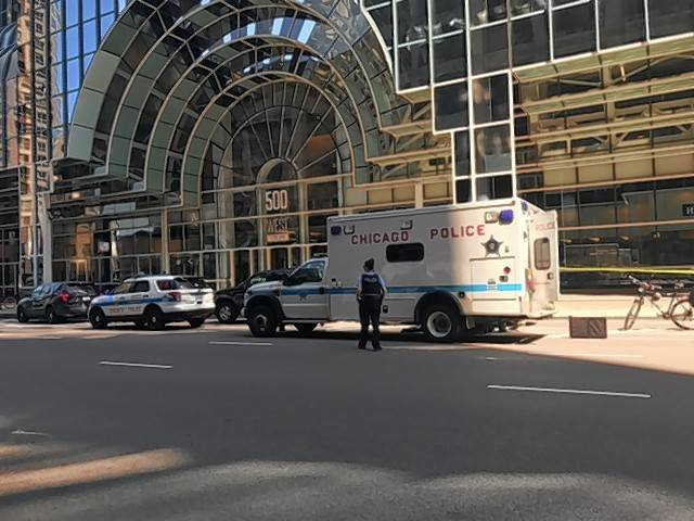No trains were coming in or out of Ogilvie Transportation Center in Chicago Wednesday morning due to police investigating a suspicious package.