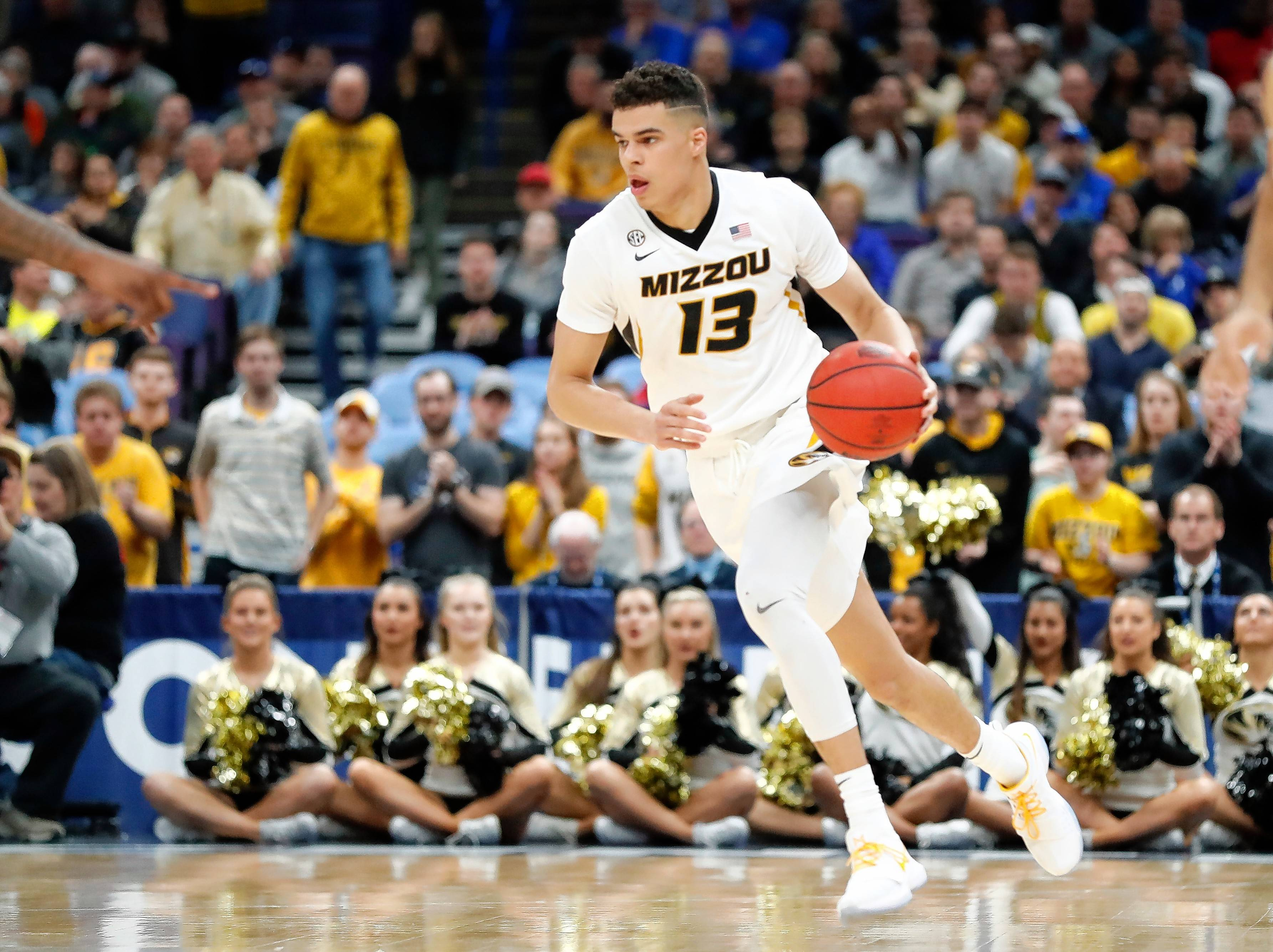 Missouri's Michael Porter Jr. is 6-foot-10 with a 7-foot wingspan. A back injury sidelined him for much of his lone college season, but he is considered a pure shooter with great versatility.