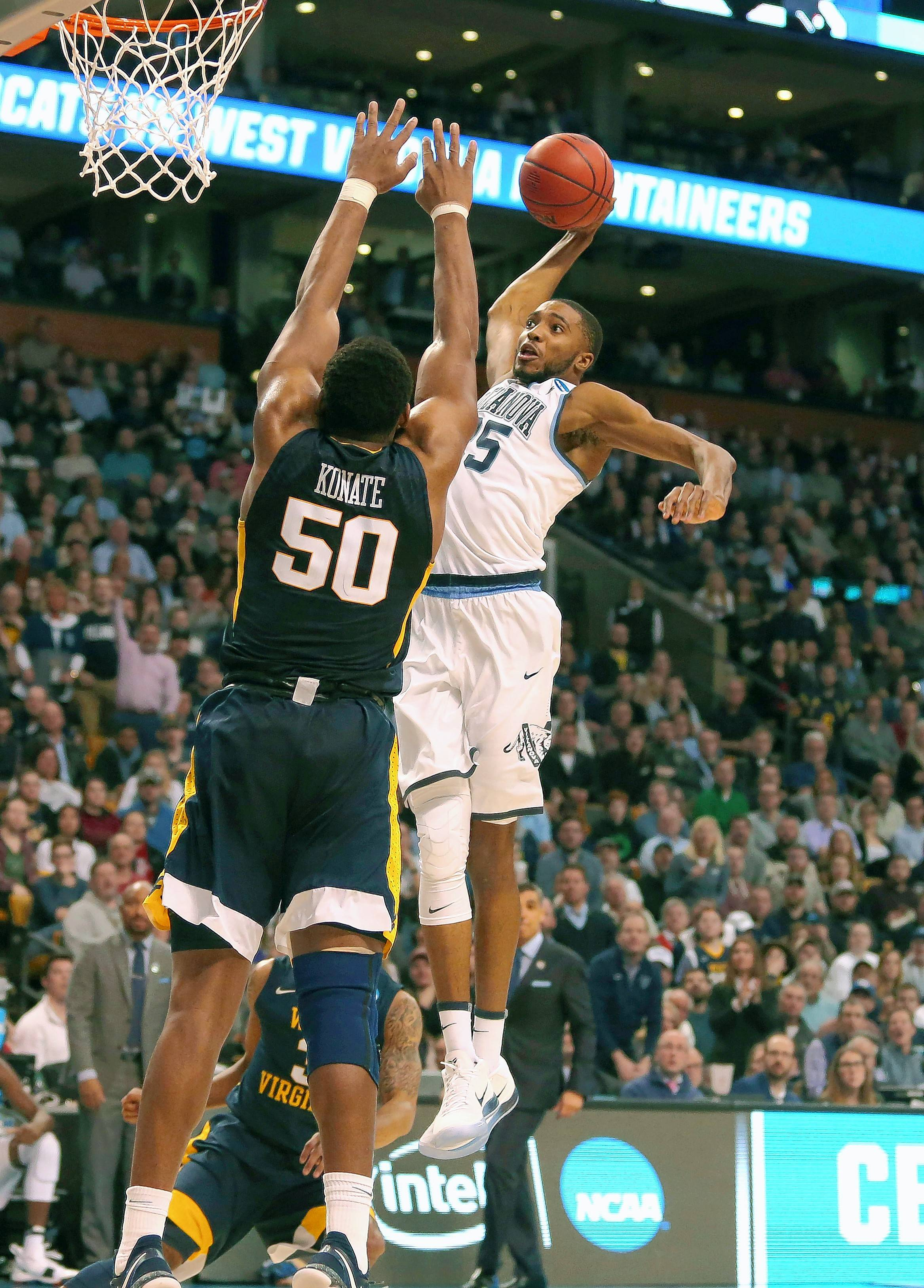 Villanova's Mikal Bridges is a 6-foot-7 guard/forward with length, athleticism and skills. A solid defender, he improved his scoring ability while leading Villanova to a national title.
