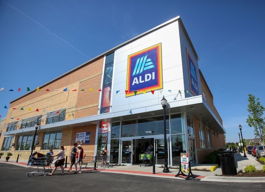 A new Aldi store opened Friday at 2108 Showplace Drive in Naperville.