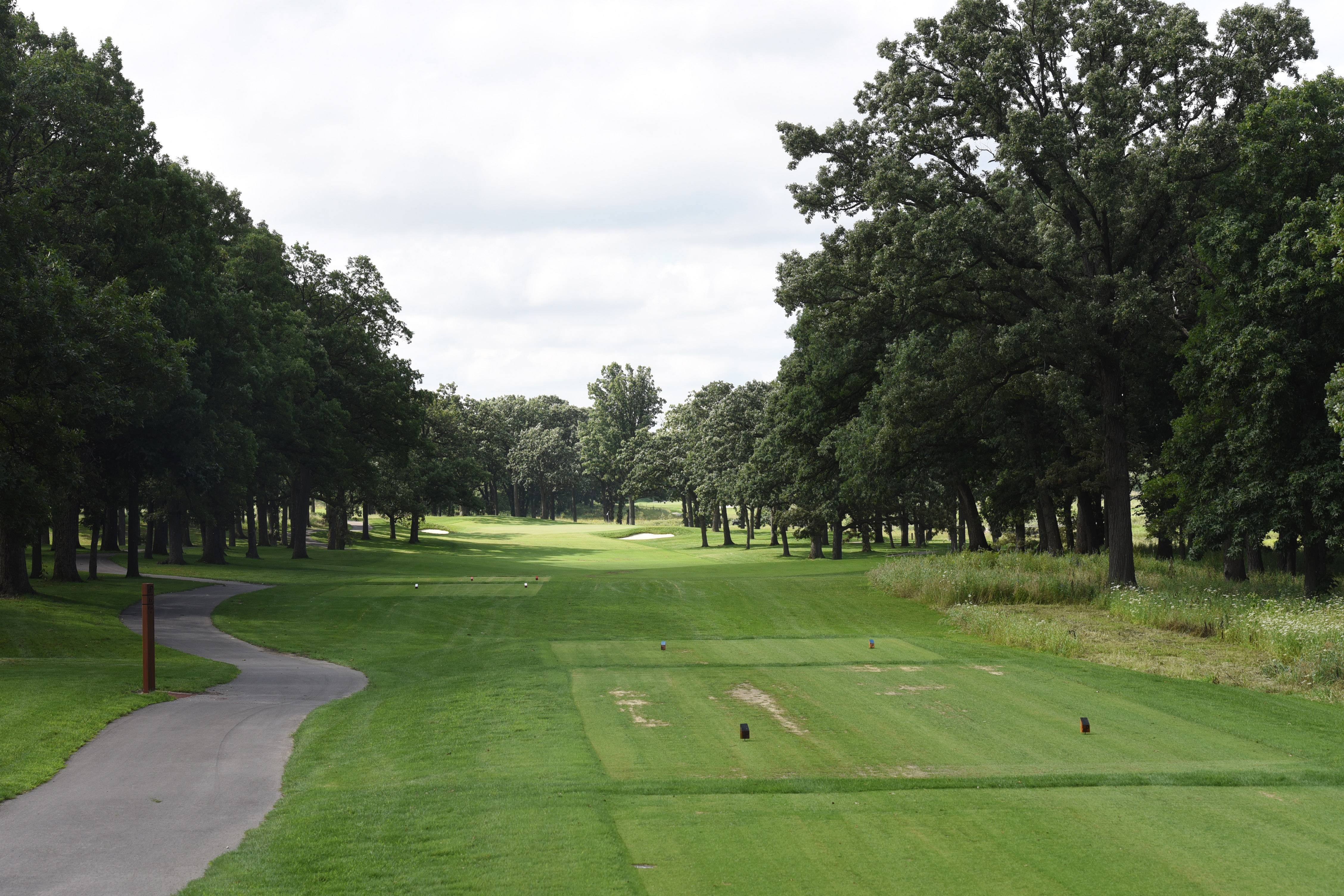 Redesigned Addison golf course passes rainy May test