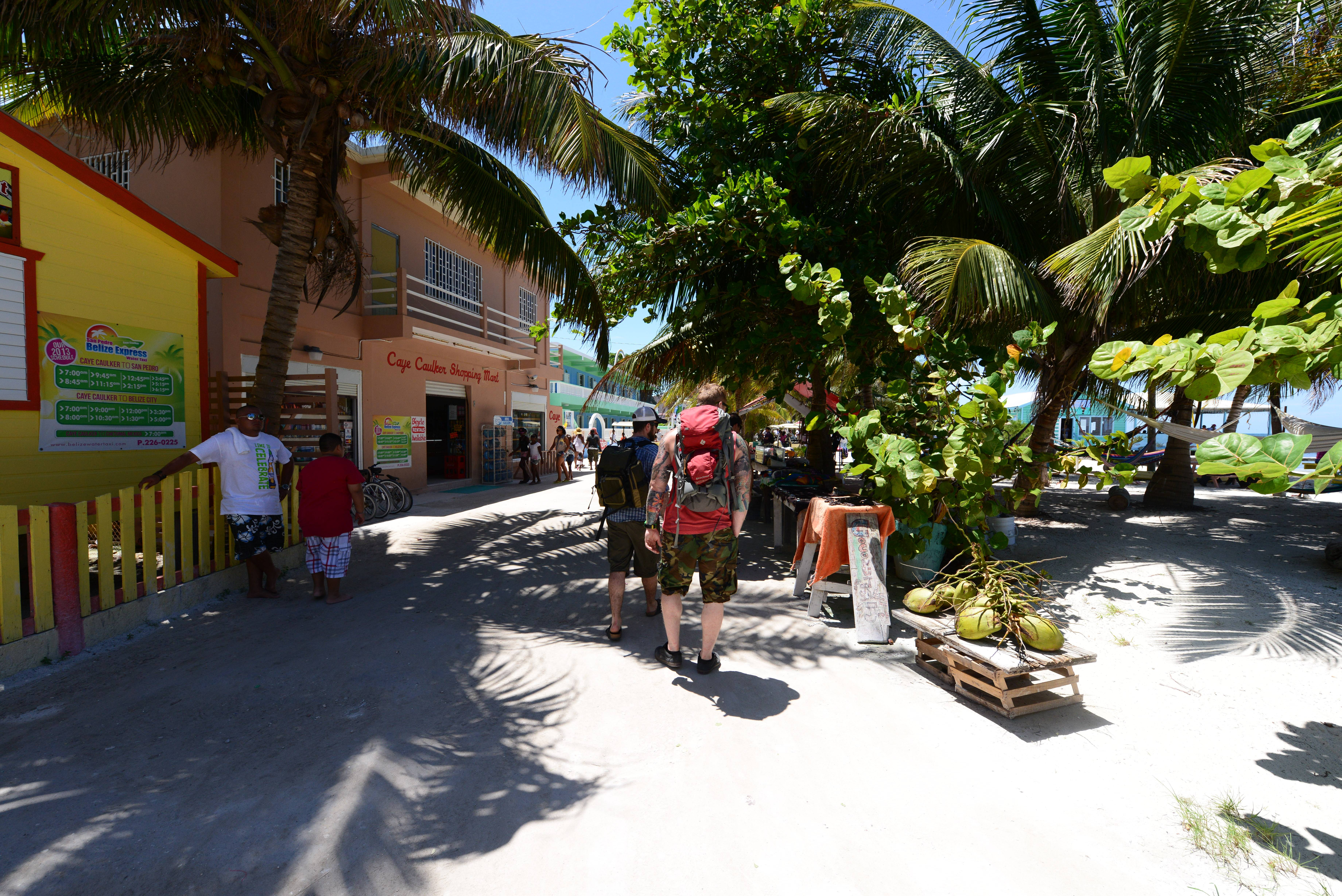 "Visitors in downtown Caye Caulker, Belize. The beach town is a laid-back, low-cost base for tourists looking to explore a nearby barrier reef. ""People fall in love with their vacation destination before they do the research that should be done before buying abroad,"" says Bryant McClain, director of sales and marketing with Itz'ana Resort & Residences in Belize. ""Often they don't even realize that they may have to overcome complex legal issues about foreign property ownership."""