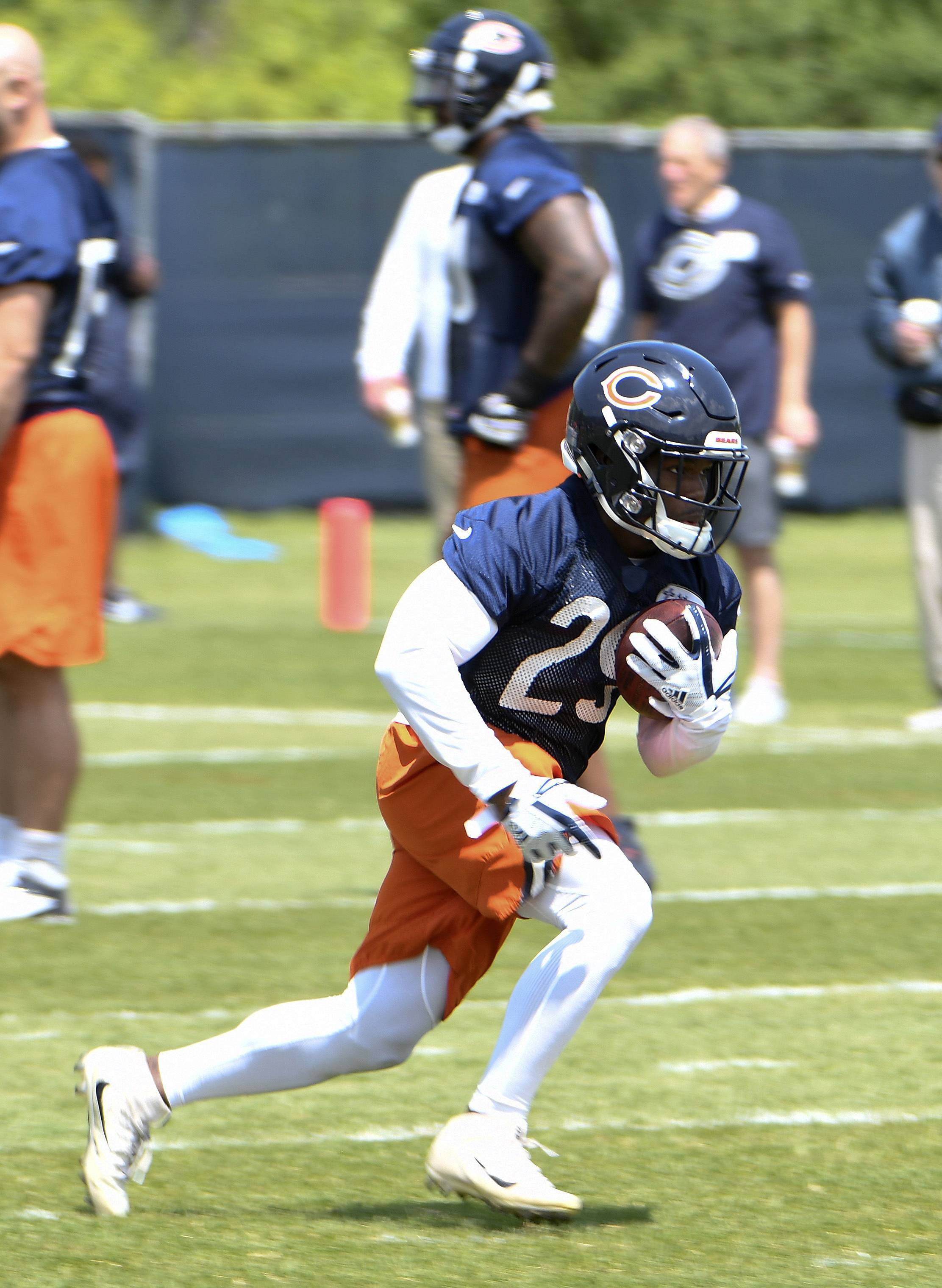 Chicago Bears running back Tarik Cohen says he's excited about the new offense under head coach Matt Nagy.