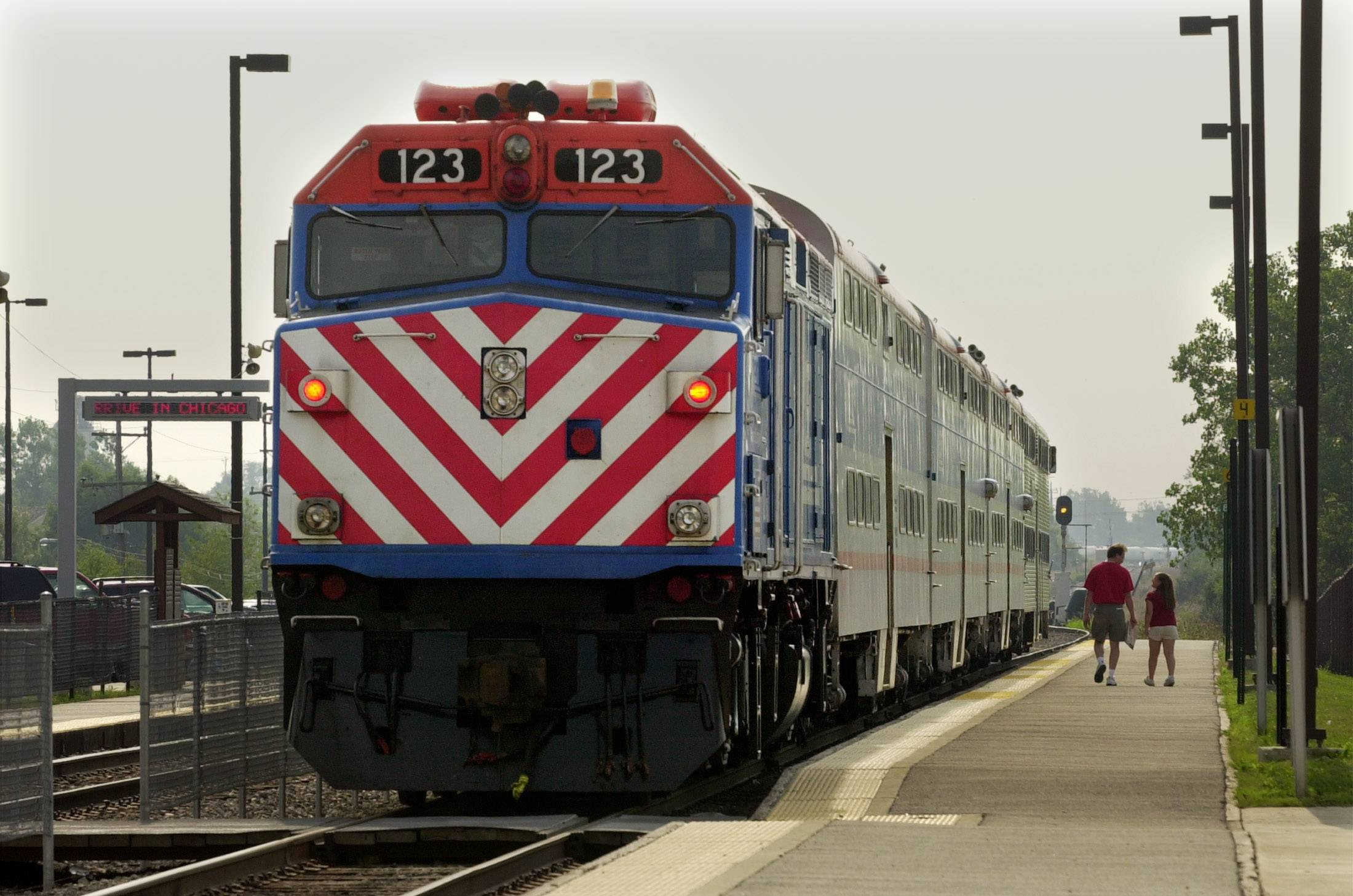 Metra is revising its BNSF Line schedule effective Monday.
