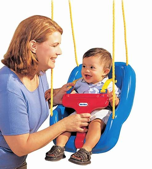 Little Tikes 2 in 1 Snug 'n Secure Swing