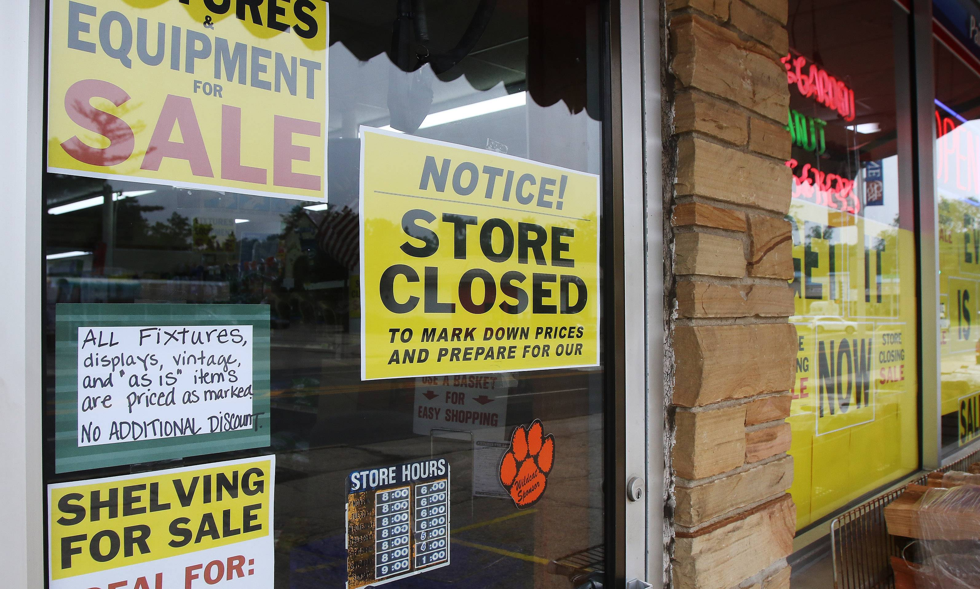 The stock of the Libertyville True Value hardware store is being liquidated and the store closed after 51 years in town.