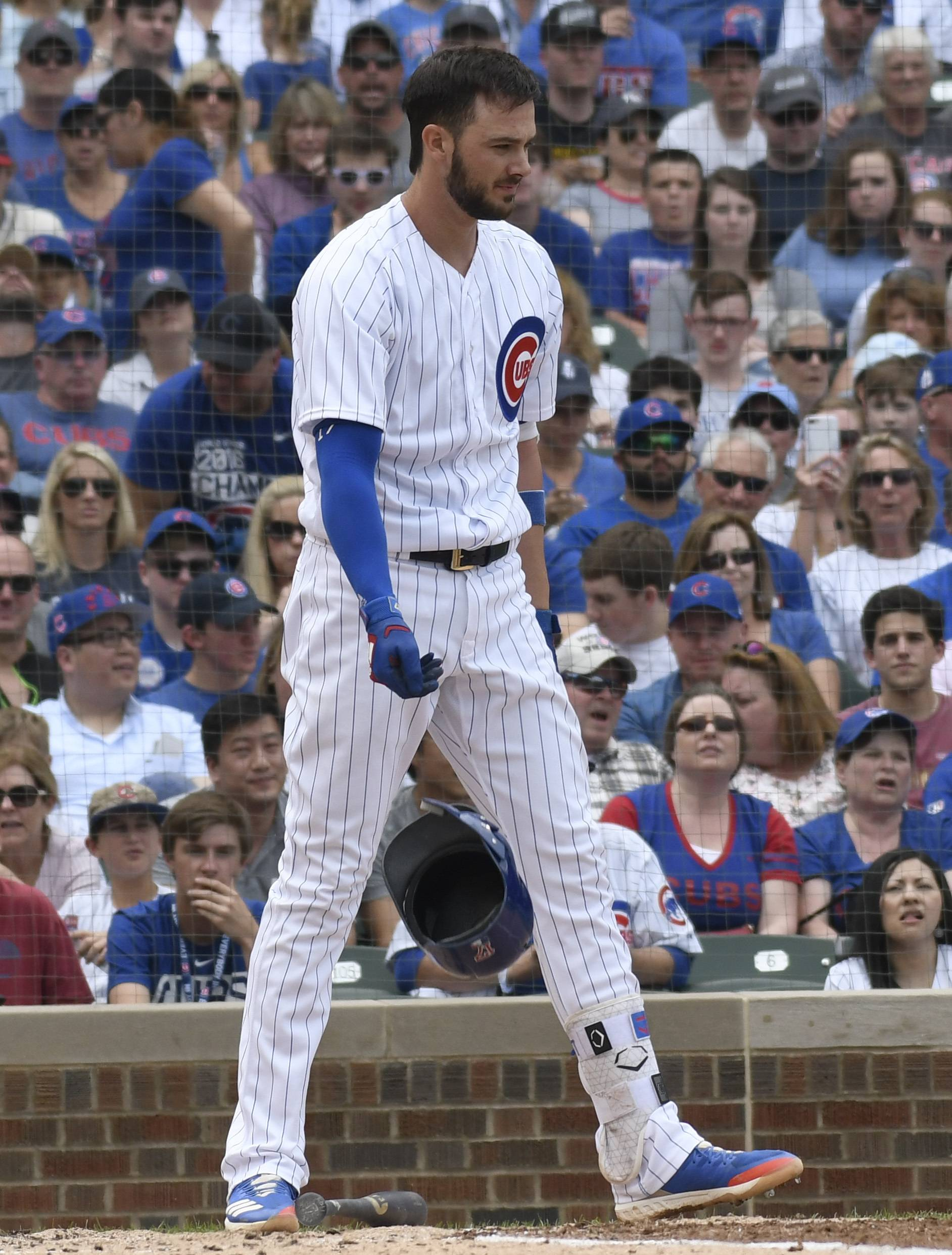 Chicago Cubs' Bryant gets a two-day break