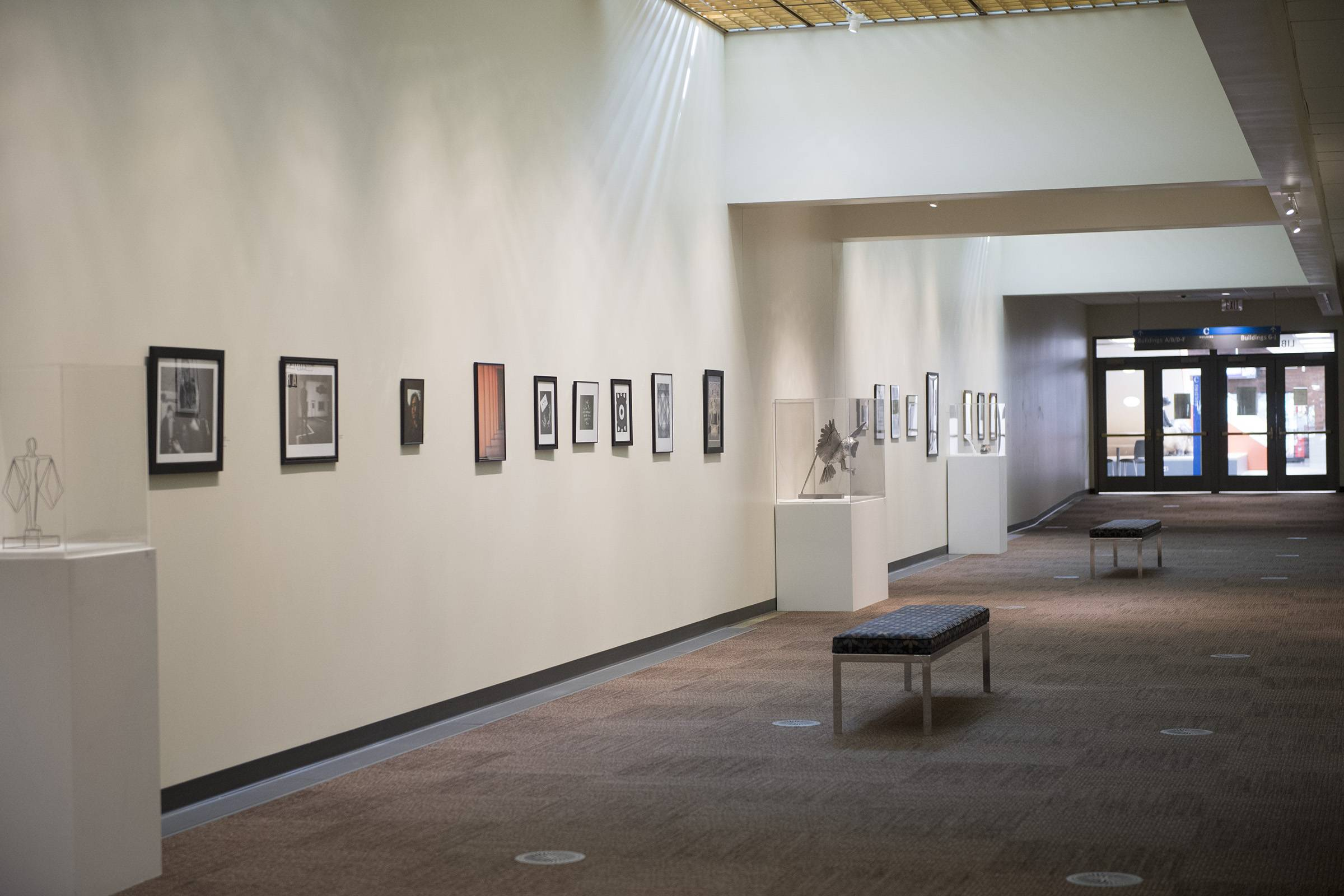 Elgin Community College's annual Student Juried Art Exhibition on display through July 29 features 36 pieces of artwork. Some of the artists' work may be available for purchase after the exhibit ends.