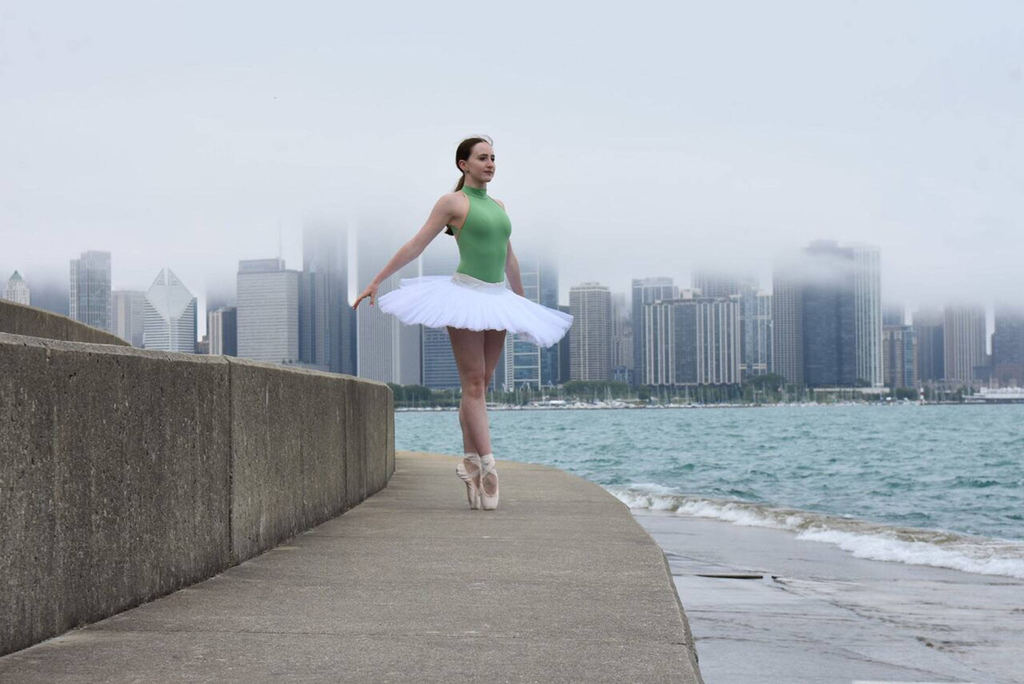 Morgan Clune of Barrington cannot imagine her life without dance, and now, with an acceptance into the elite dance program at The Juilliard School in New York, her vision appears to be a reality.