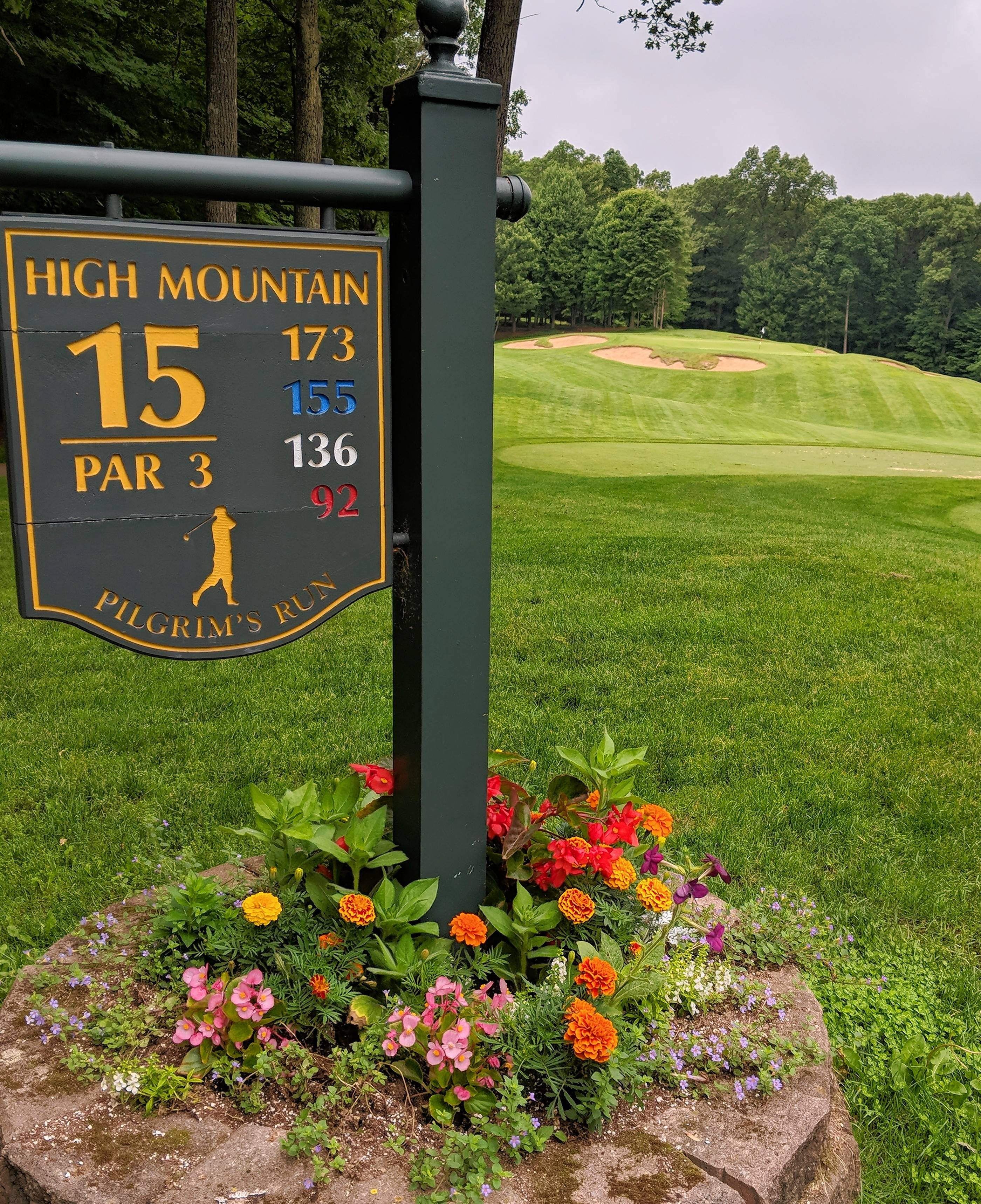 Pilgrim's Run Golf Club, a popular public course in Pierson, Michigan, stands out because of all its special touches.