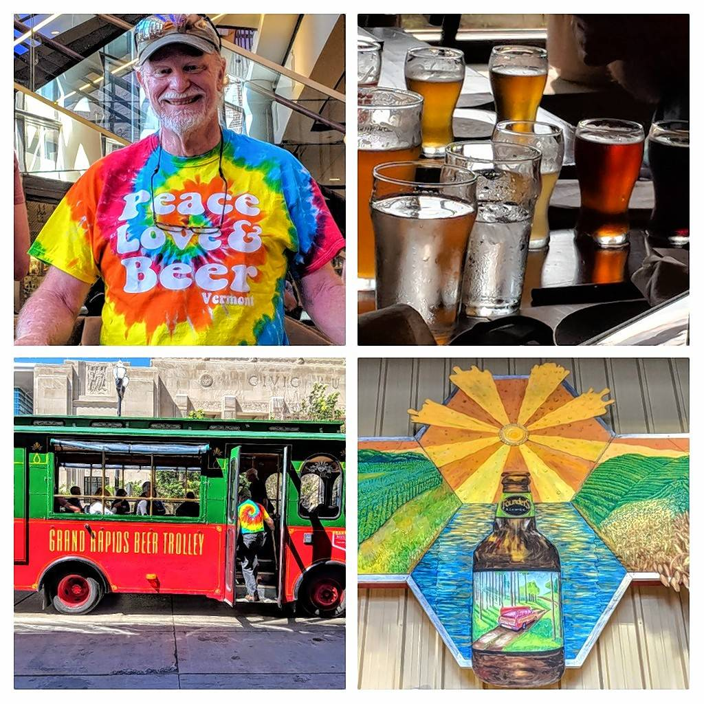 The colorful Grand Rapids beer scene has created a cheerful, fun atmosphere in the city, which has earned a place on several Beer City, USA lists over the years.