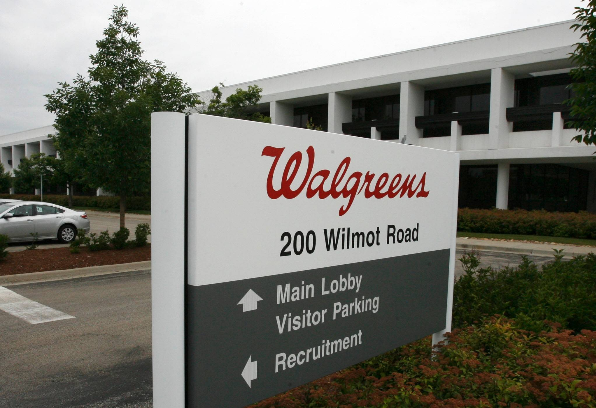 Walgreens Boots Alliance Inc.'s fiscal third-quarter earnings jumped more than 15 percent and beat Wall Street expectations despite flat sales from the drugstore chain's U.S. pharmacies.