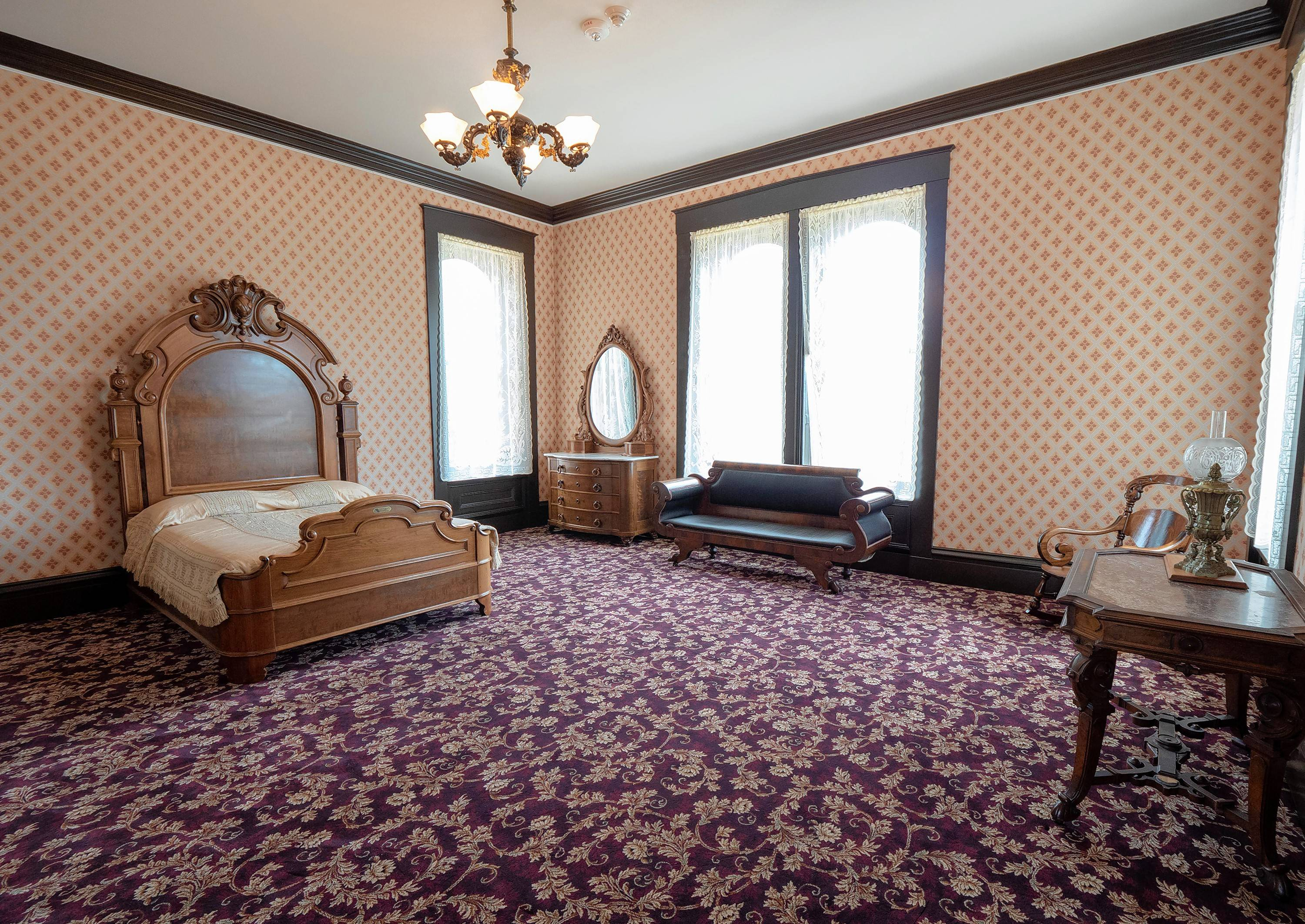 Rooms in the Governor's Mansion now reflect different time periods.
