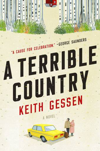 "This cover image released by Viking shows ""A Terrible Country,"" a novel by Keith Gessen. (Viking via AP)"