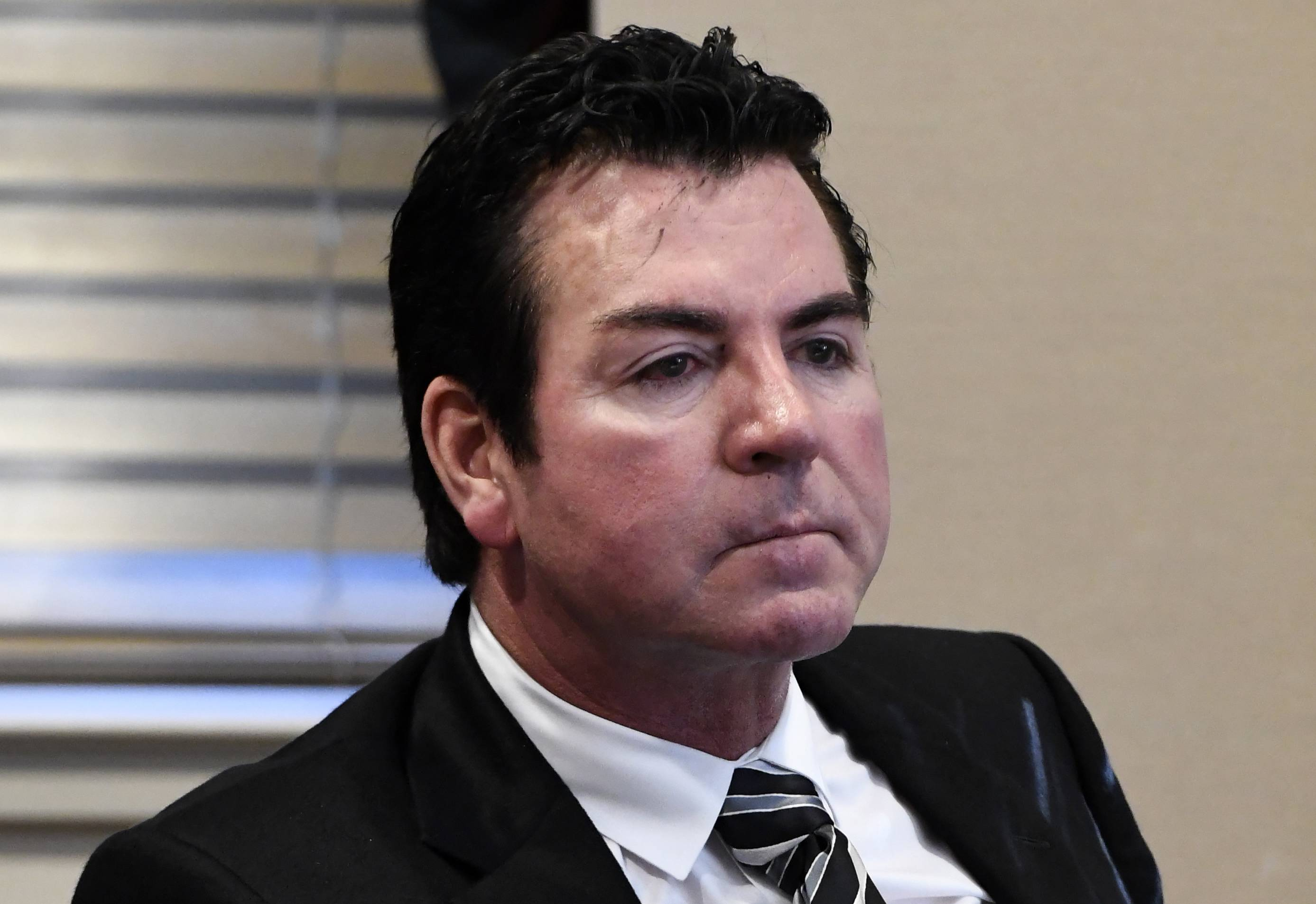 Papa John's founder John Schnatter has resigned as the company's chairman of the board, the company said Wednesday.